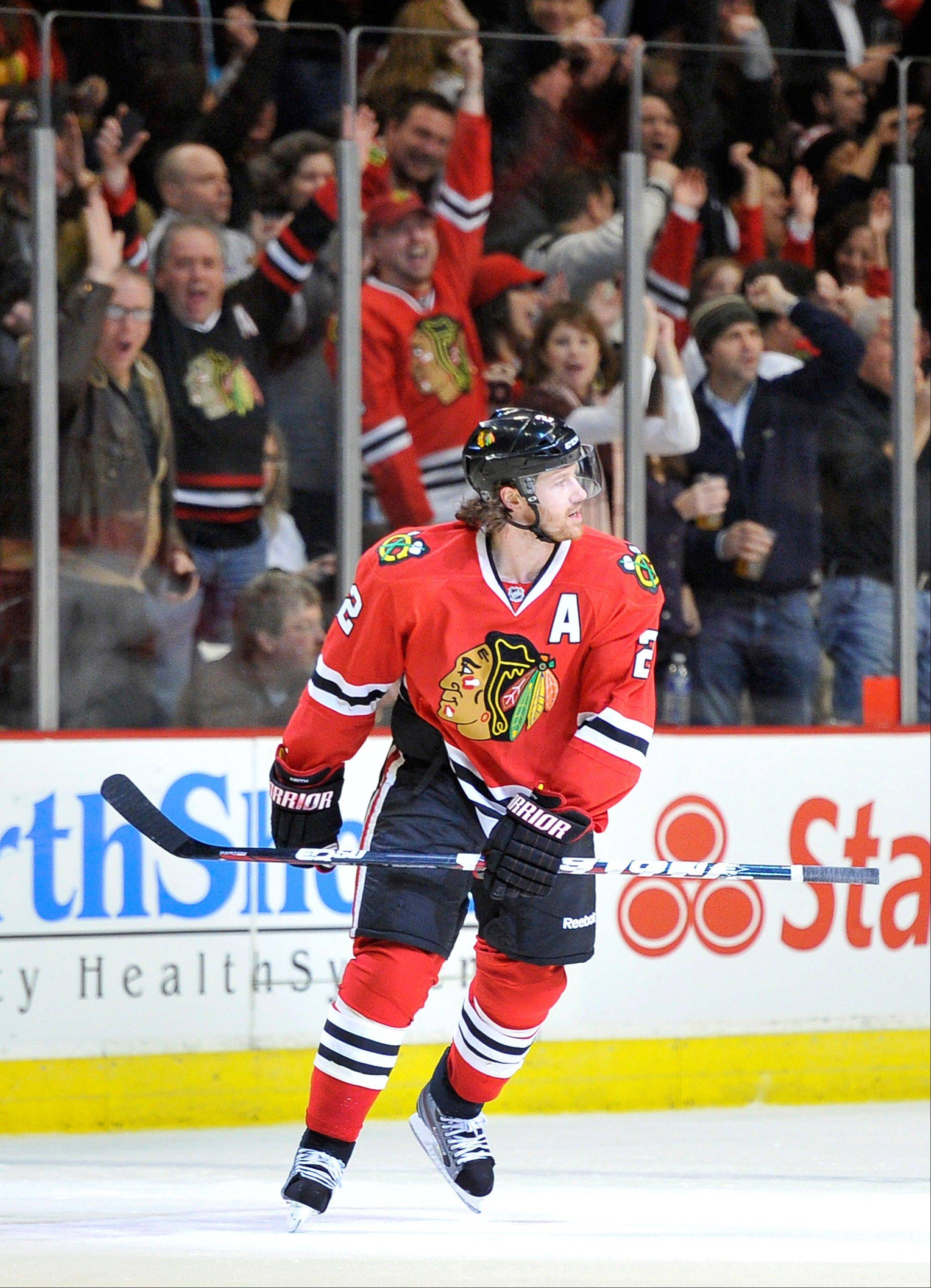 As a new father, defenseman Duncan Keith will likely get a warm reception at the United Center from Blackhawks fans when the team takes the ice on Thursday for Game 5 against Minnesota.