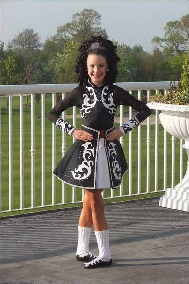 When she's not dancing, 15-year-0 old Moira Kramp, the 2012 North American Irish Dance Championships winner in her age group, runs track for Rolling Meadows High School.