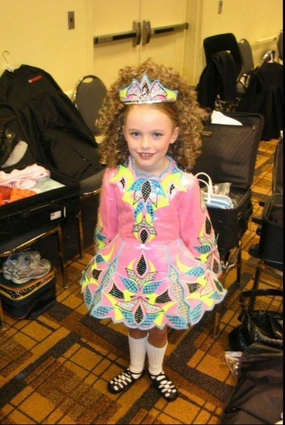 Moira Kramp of Arlington Heights was 8 when she attended her first Irish dance national competition in San Diego.