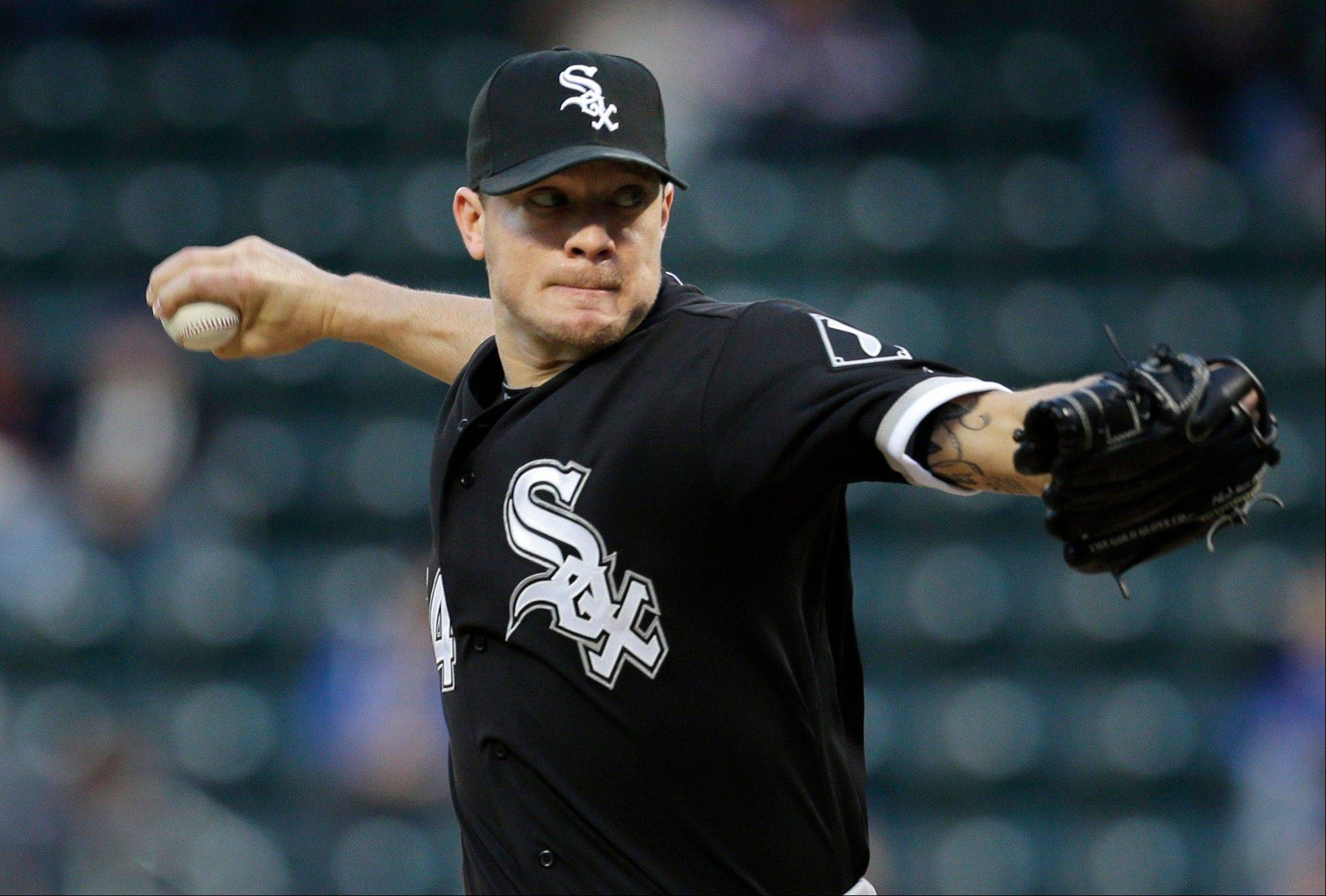 White Sox starter Jake Peavy could be the only right-hander in the rotation when John Danks returns.