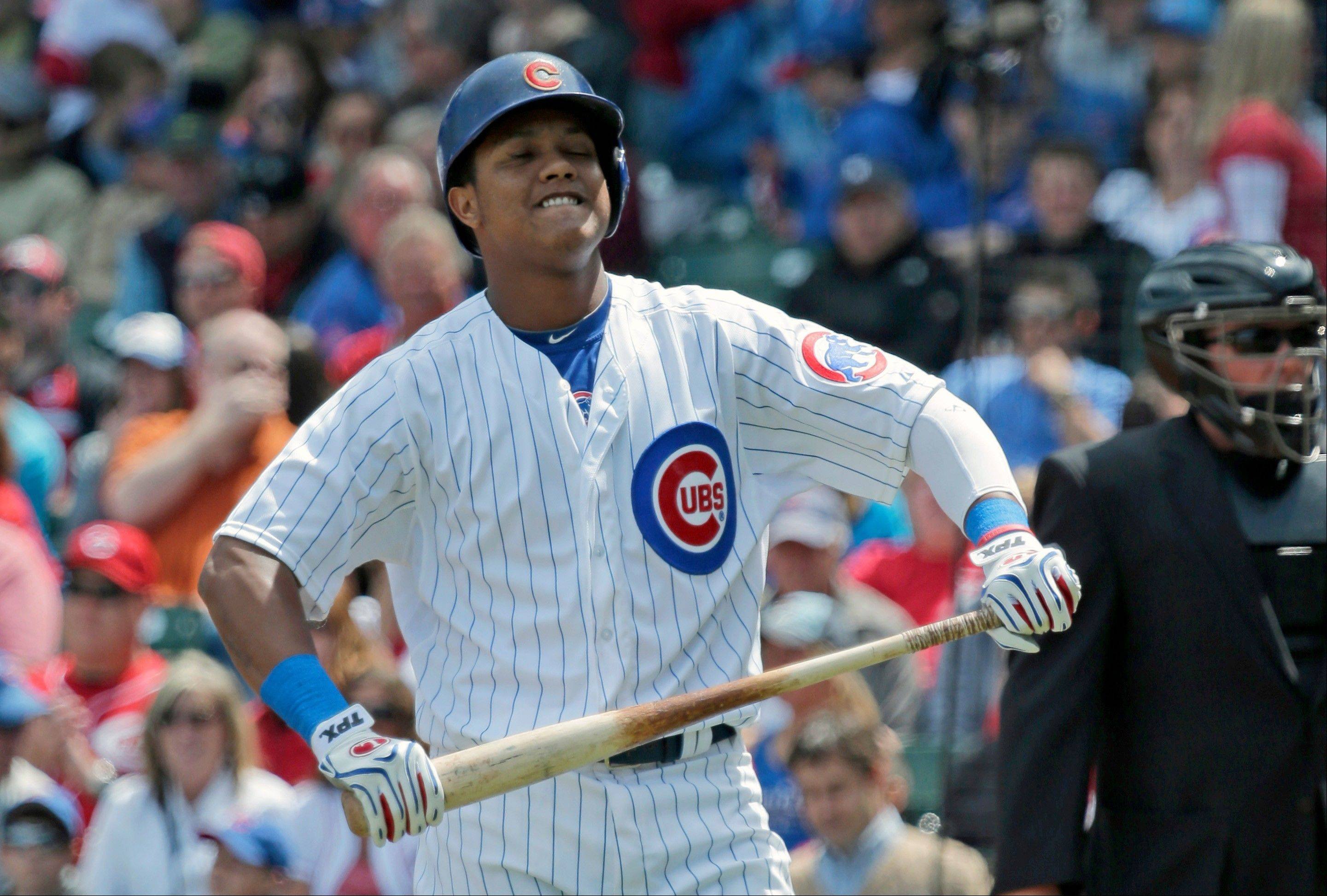 Like most of his teammates, Starlin Castro has struggled at the plate with runners in scoring position, and the are last in the majors in that hitting category.
