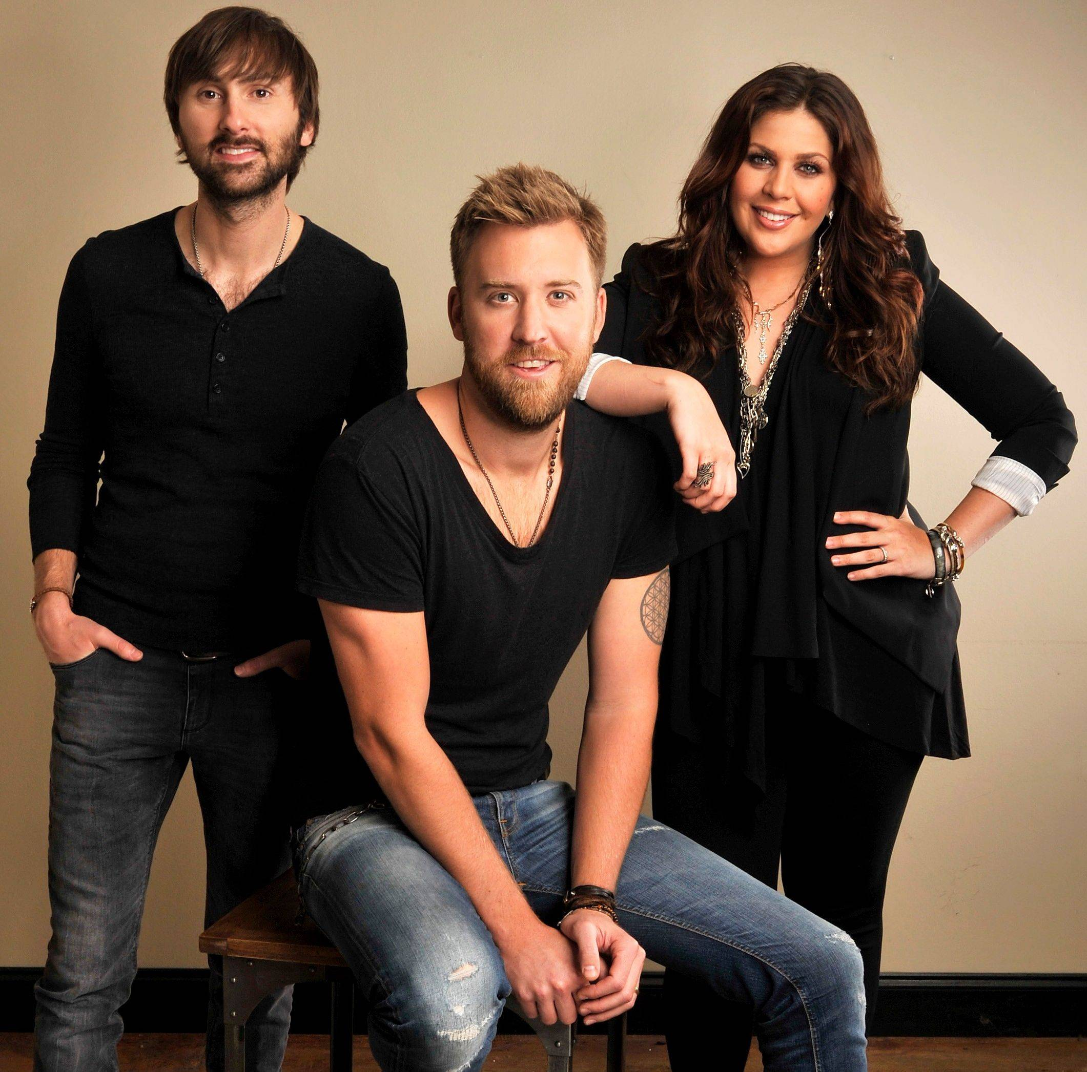 "Lady Antebellum — Dave Haywood, left, Charles Kelley and Hillary Scott — released their latest album, ""Golden,"" this week."