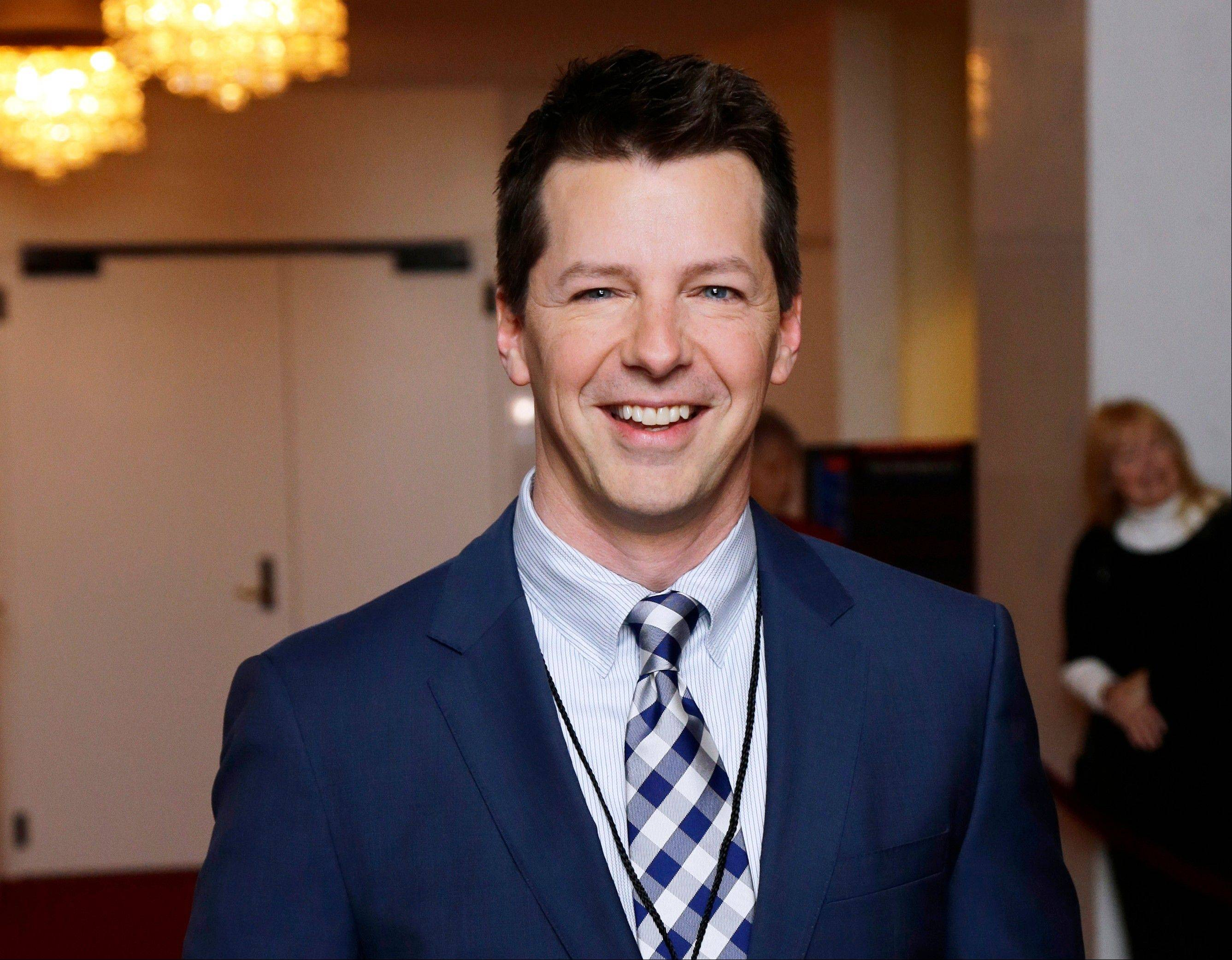 "Actor Sean Hayes stars as a gay divorced dad in ""Sean Saves the World,"" one of three new comedies coming next season on NBC."
