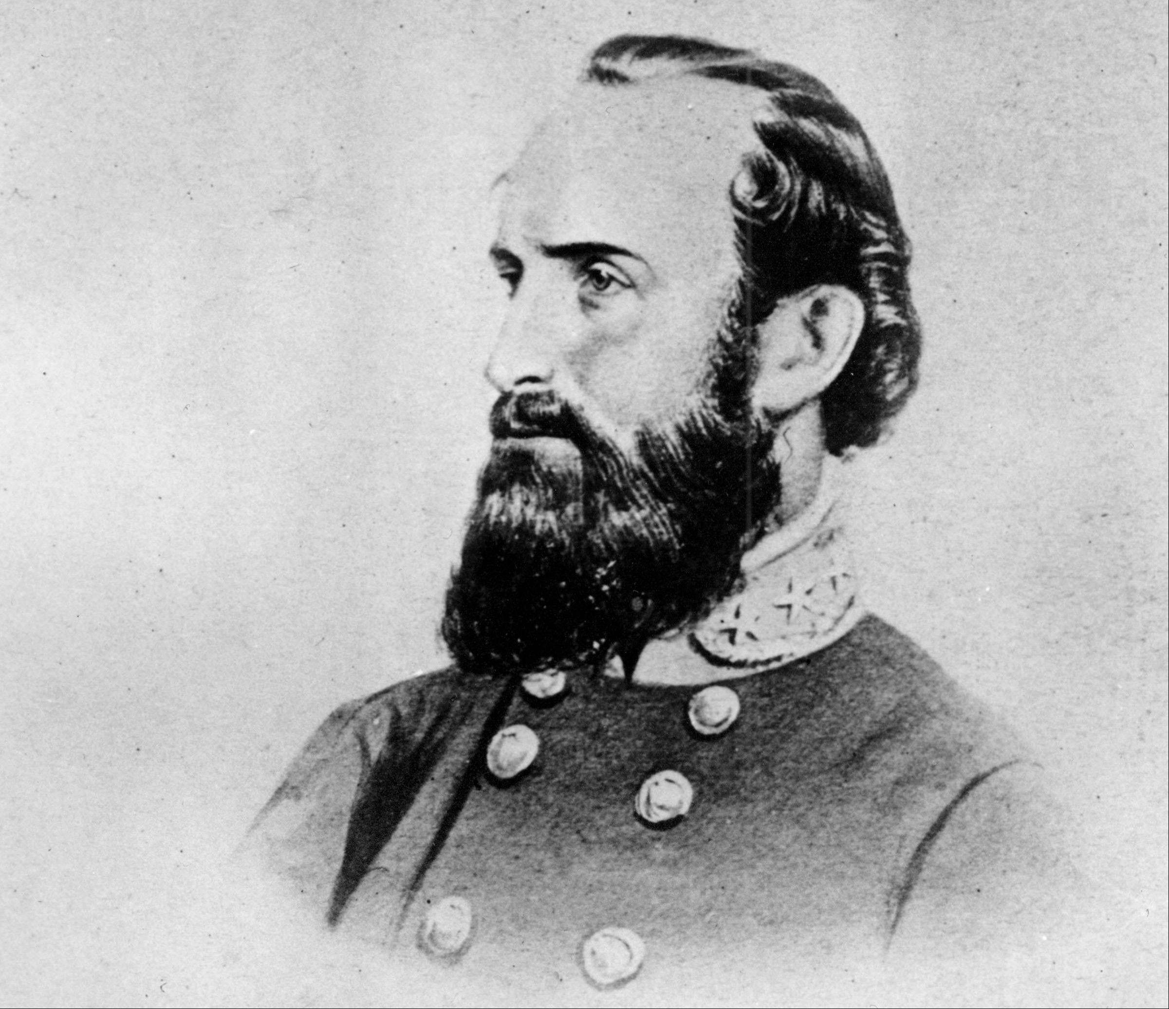 A drawing of Thomas Jonathan �Stonewall� Jackson, the Confederate general during the American Civil War.