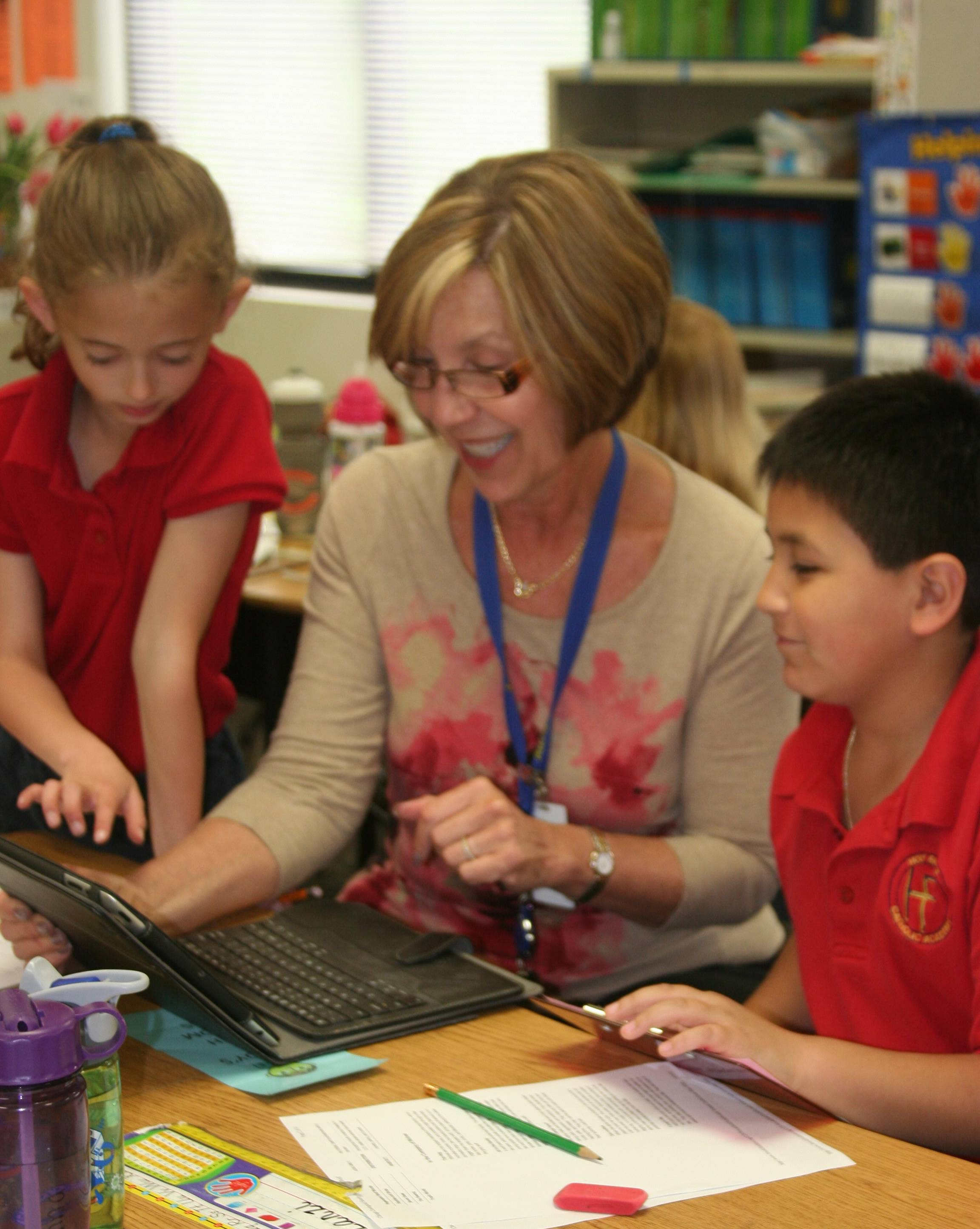 Holy Family Academy Expands iPad Use in 1st and 2nd Grades