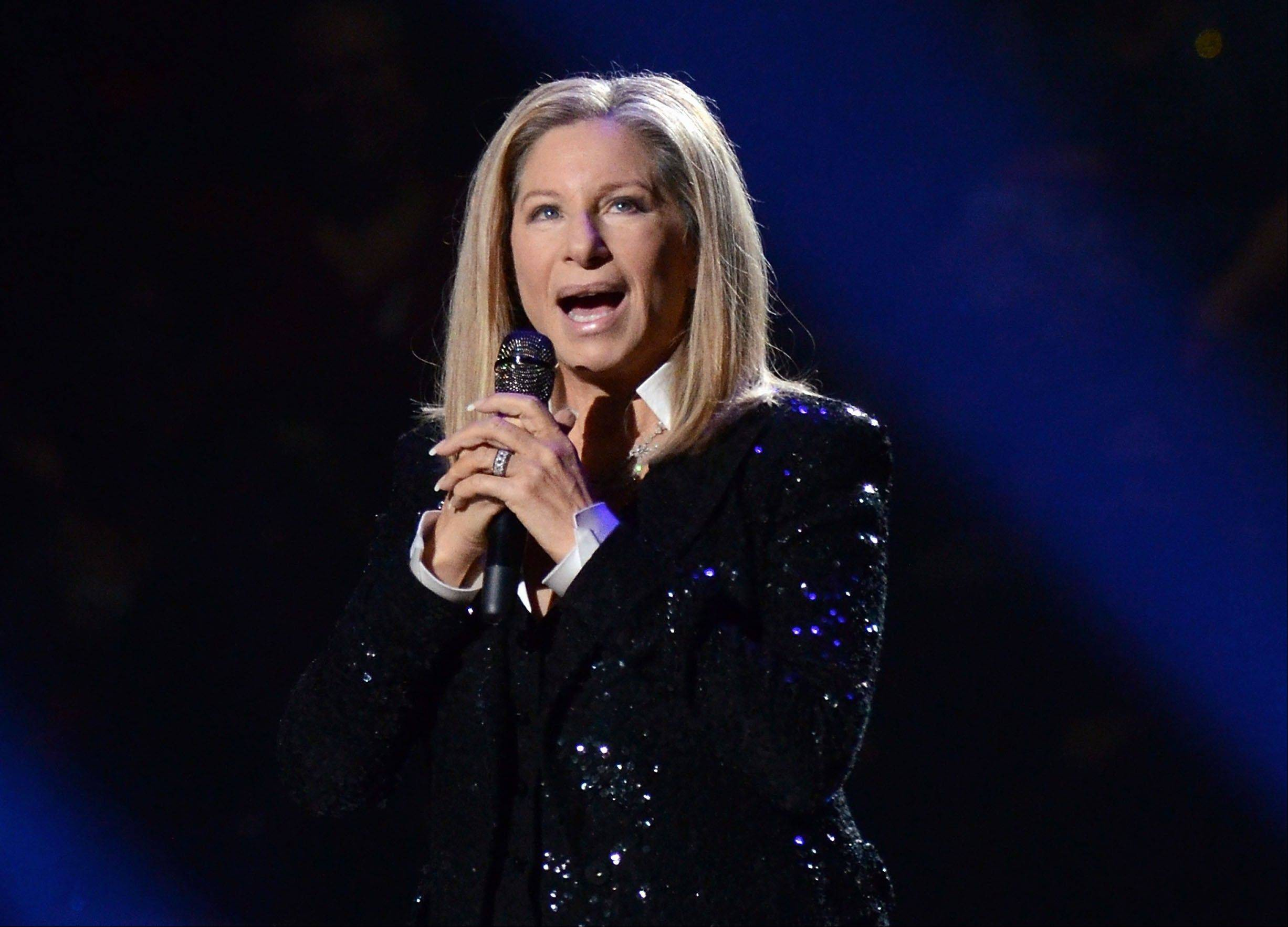 "Singer Barbra Streisand performing at the Barclays Center in the Brooklyn borough of New York. A Barbara Streisand concert, Shakespearean dramas and the return of ""Foyle's War"" to ""Masterpiece Mystery!"" are on the PBS fall schedule."