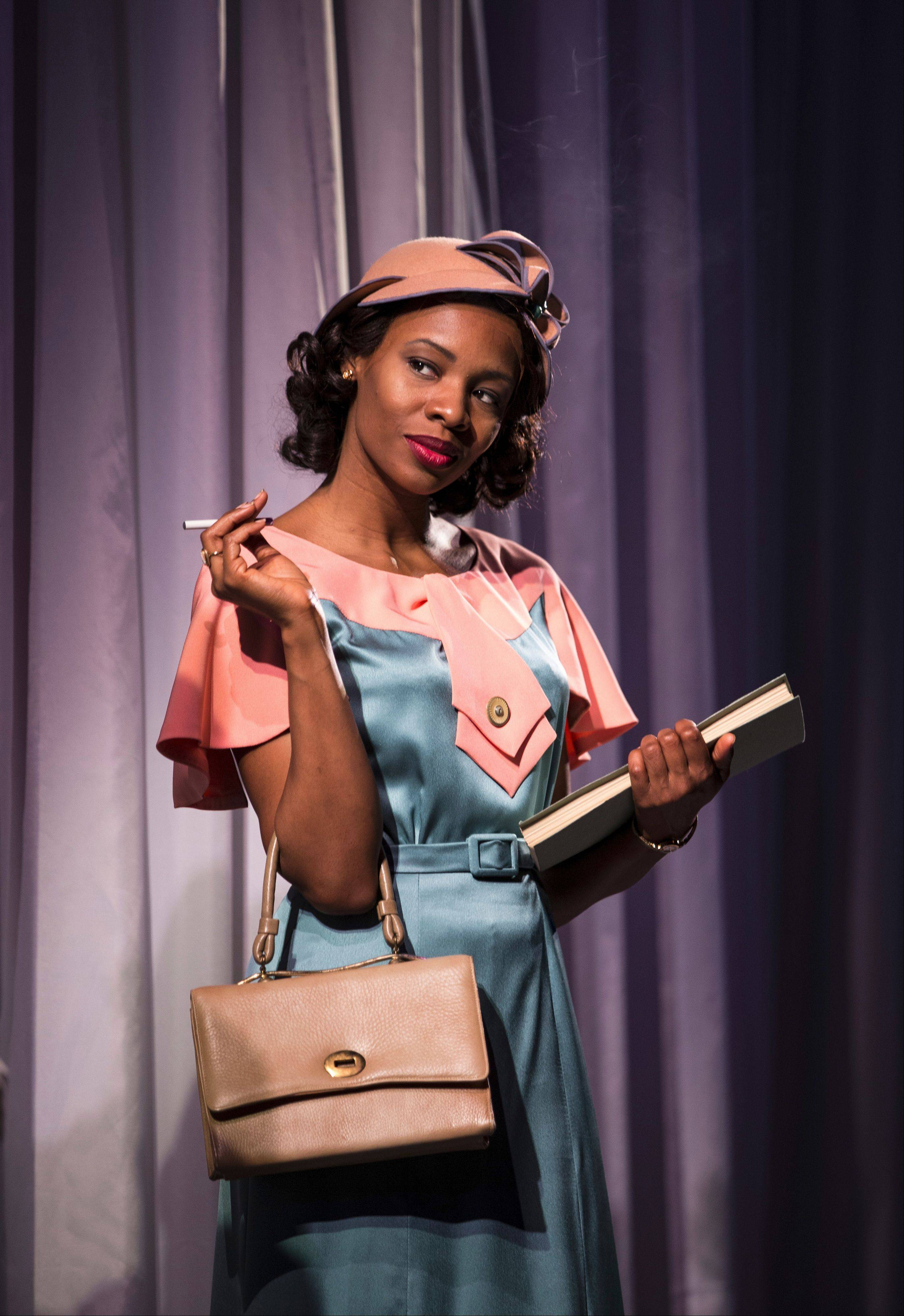 "Tamberla Perry stars as a fictional African American actress looking for a break in 1930s Hollywood in Goodman Theatre's ""By the Way, Meet Vera Stark."""