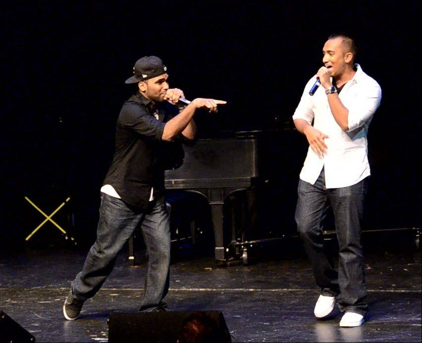 iLLest Vocals (Sanu John of Skokie and Shawn Kurian of Wheeling) won the 2012 edition of Suburban Chicago's Got Talent at the Metropolis Performing Arts Centre in Arlington Heights.