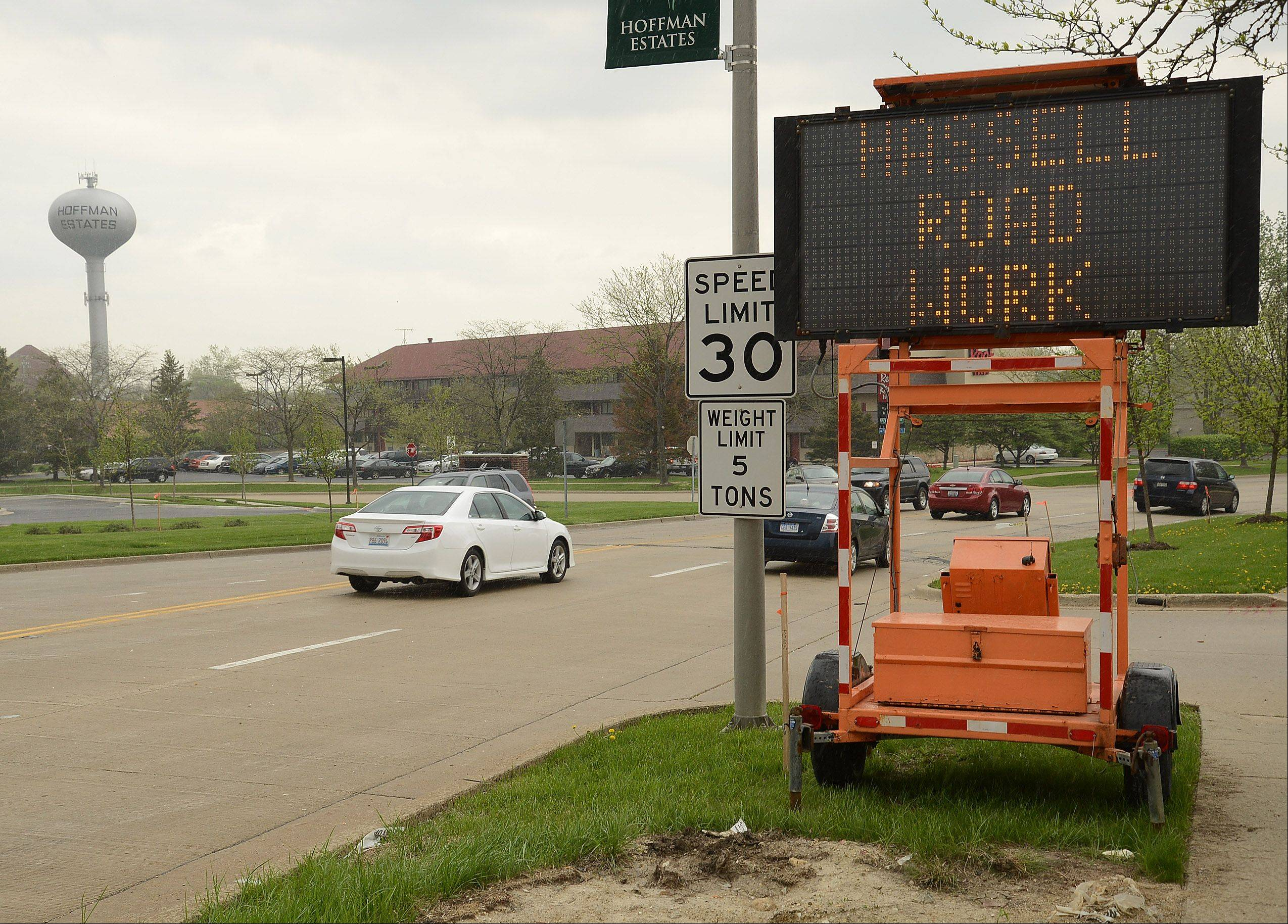 Prep work for the Hassell Road reconstruction project is tentatively scheduled to begin Monday.