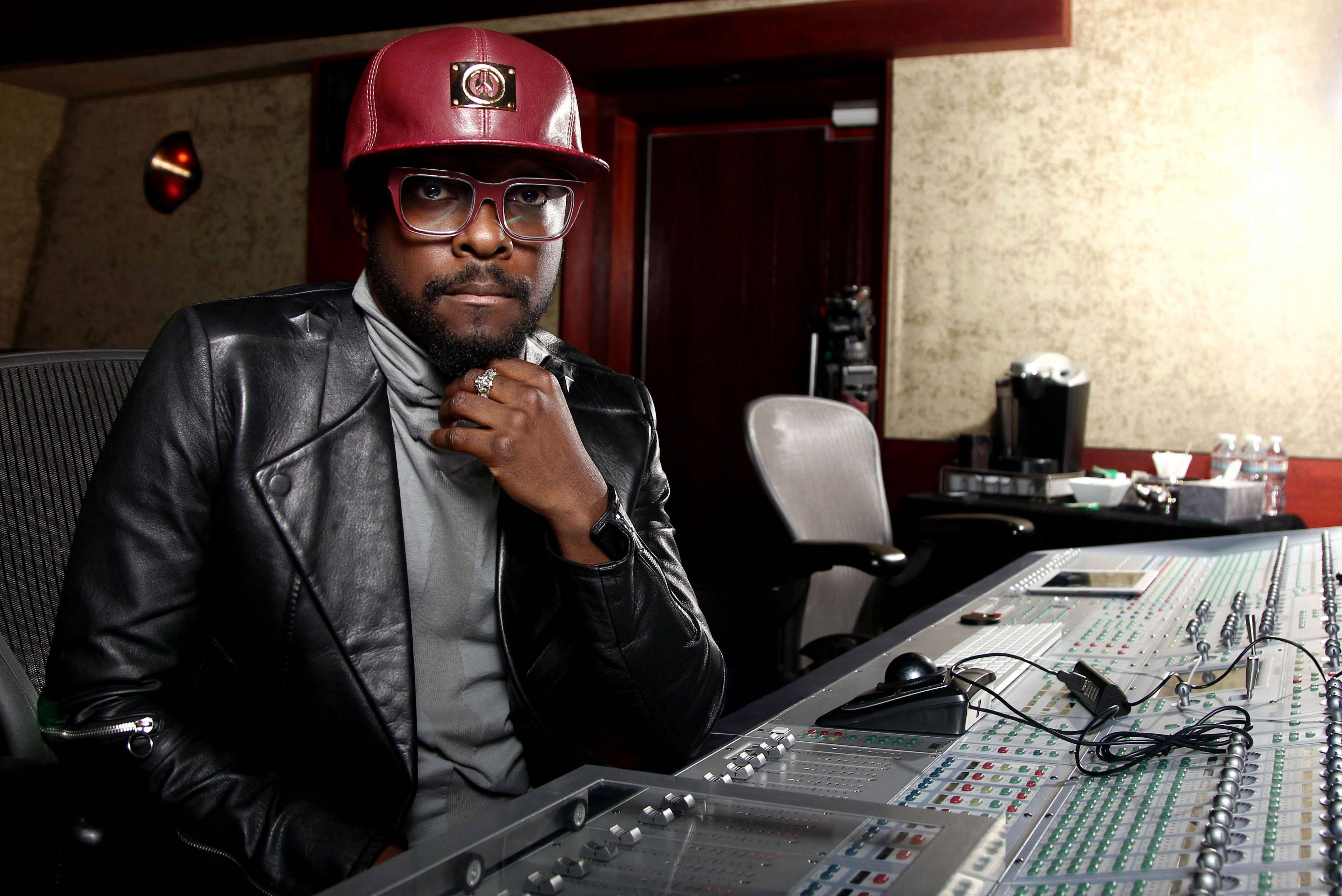 Will.i.am is branching out -- but still making music.