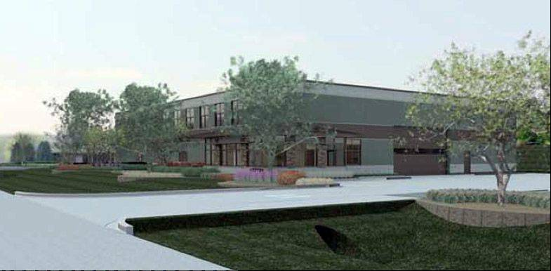 The Vernon Hills Park District will proceed with a $2.5 million maintenance building in Century Park.