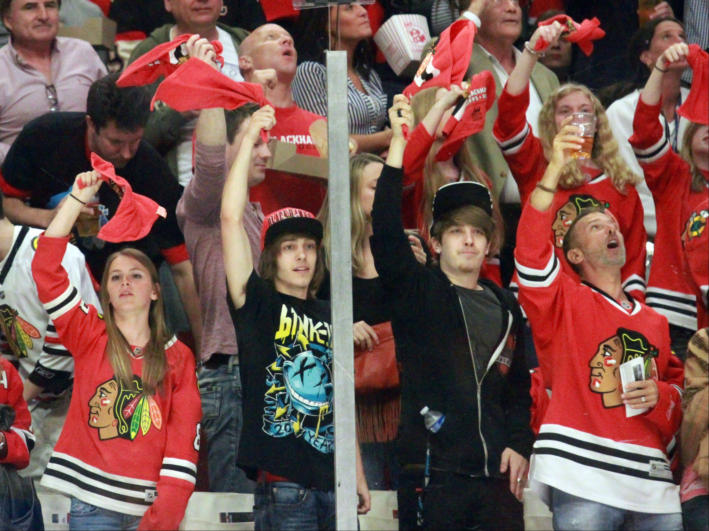 Blackhawks fans have accounted for 214 consecutive sellouts in the regular season, and playoff games at the hottest ticket in Chicago.