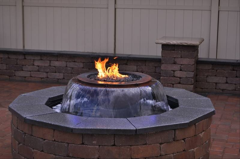 Water And Fire Features On The Upswing For Outdoor Living