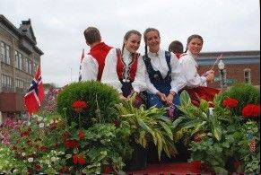 Stoughton, Wis., celebrates its Norwegian heritage with a weekend festival called Syttende Mai.