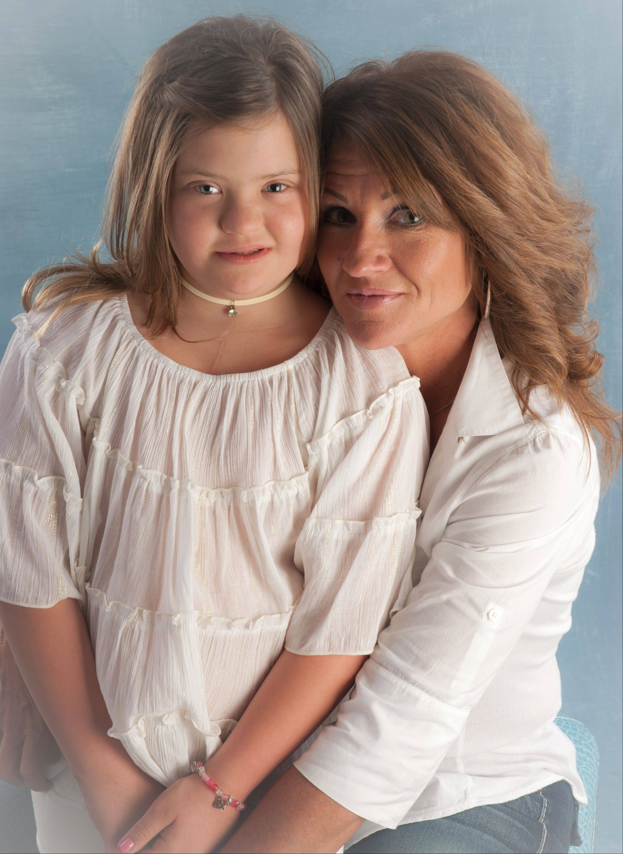 Nancy Gianni with daughter, Gigi.