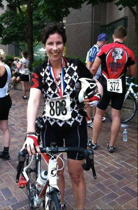 After talking with her oncologist, the author got back on her bike and is now a dedicated cyclist.
