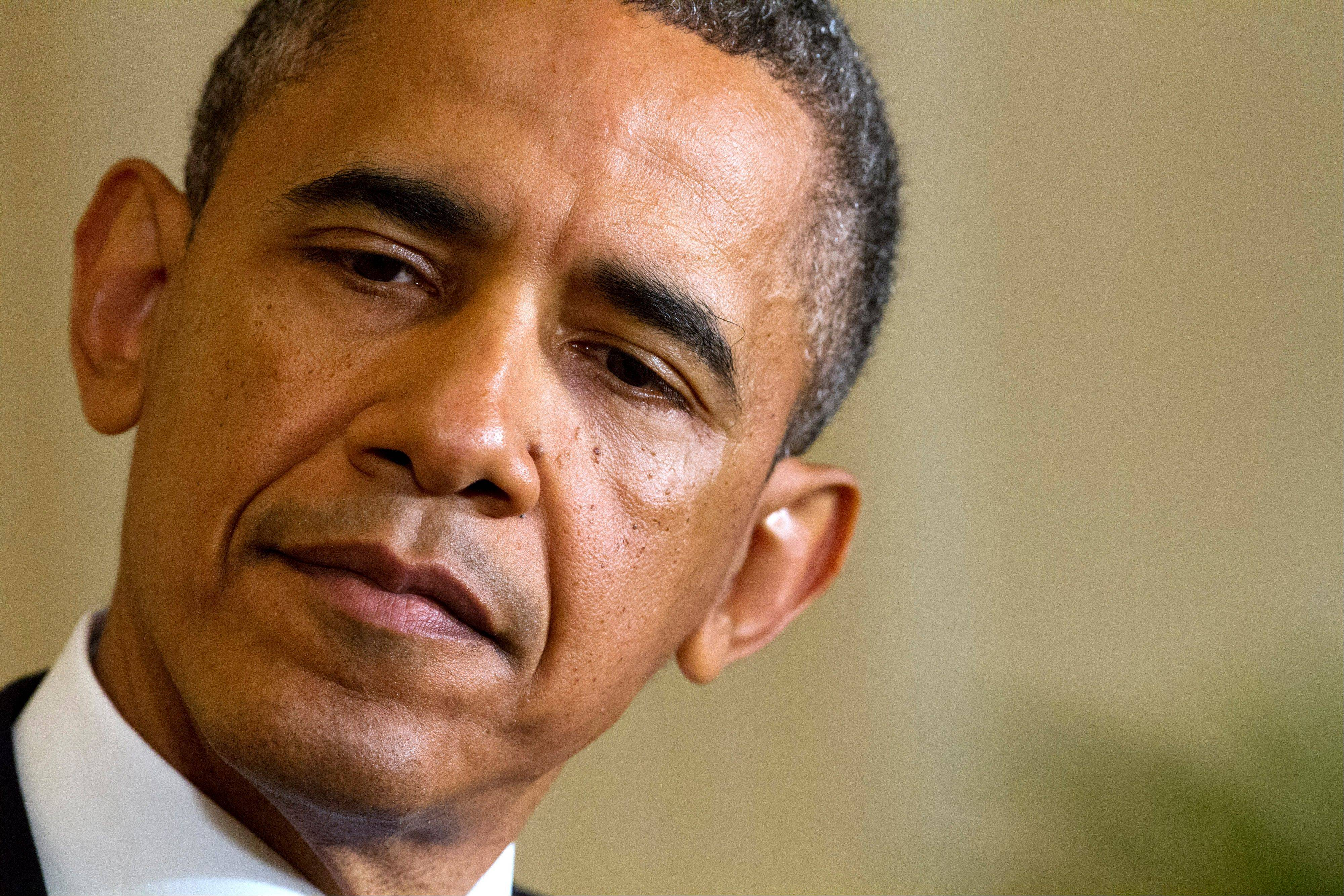 "President Barack Obama on Monday called reports that the Internal Revenue Service targeted conservative groups ""outrageous"" and said anyone responsible should be held accountable."