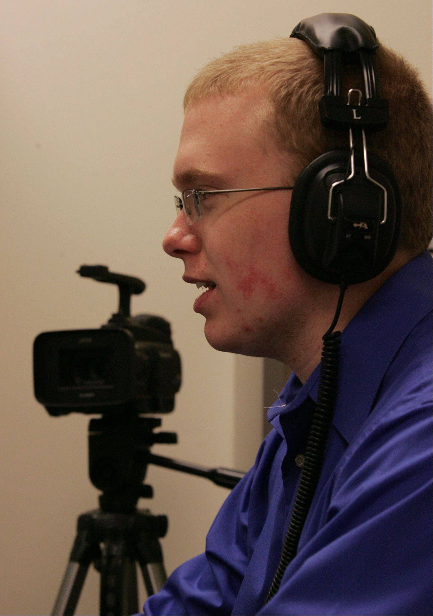 Hampshire High School senior Danny Heck has done videos for his school and his church. His plan is to attend Elgin Community College for two years and go on to complete a bachelor of arts degree in filmmaking from Columbia College in Chicago.