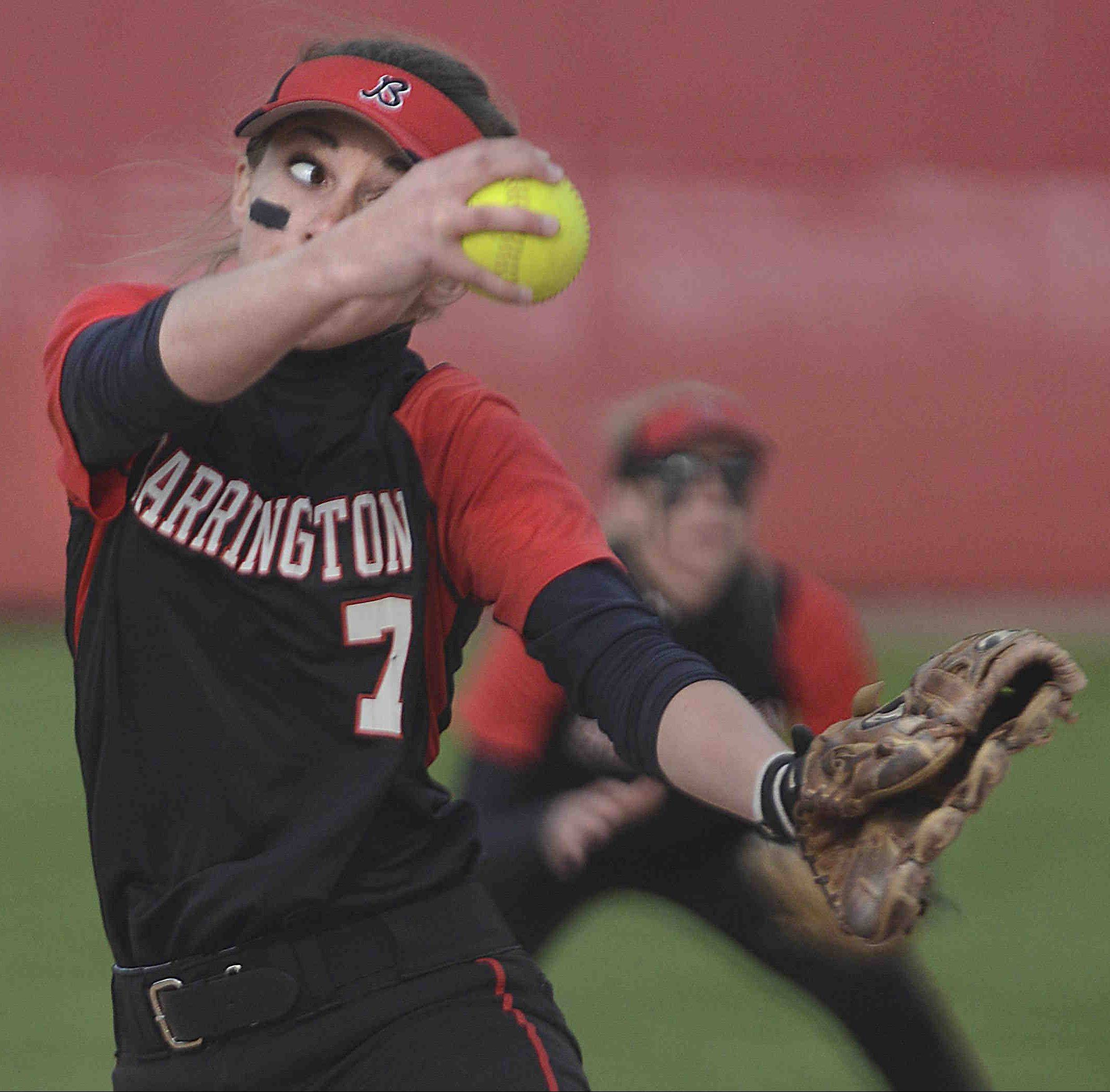 Barrington pitcher Keenan Dolezal delivers against Fremd on Monday.
