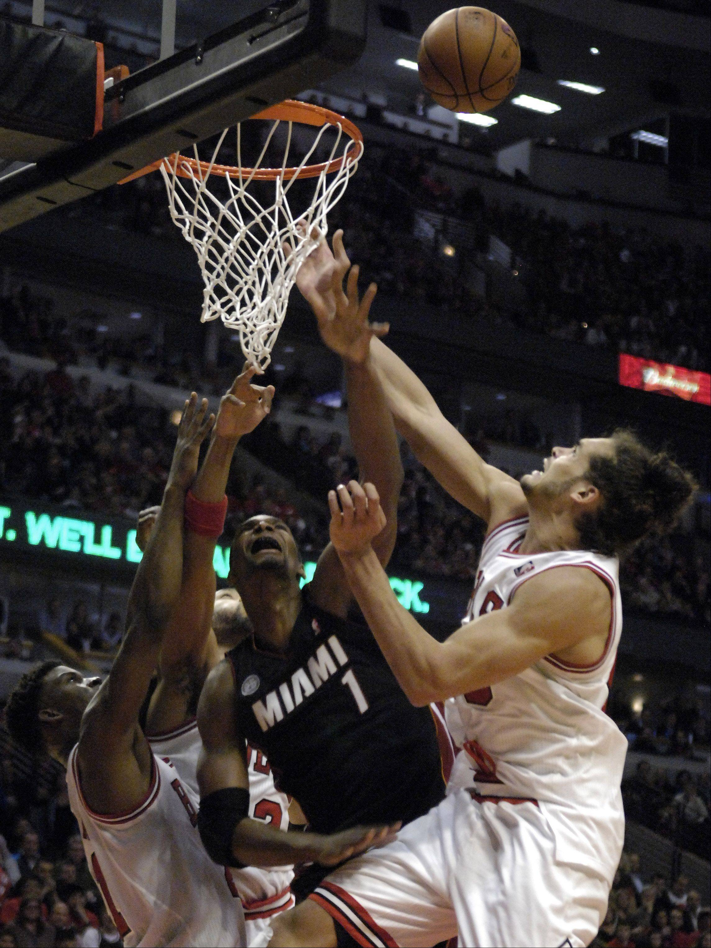 Bulls center Joakim Noah was named to the NBA's all-defensive first team Monday.