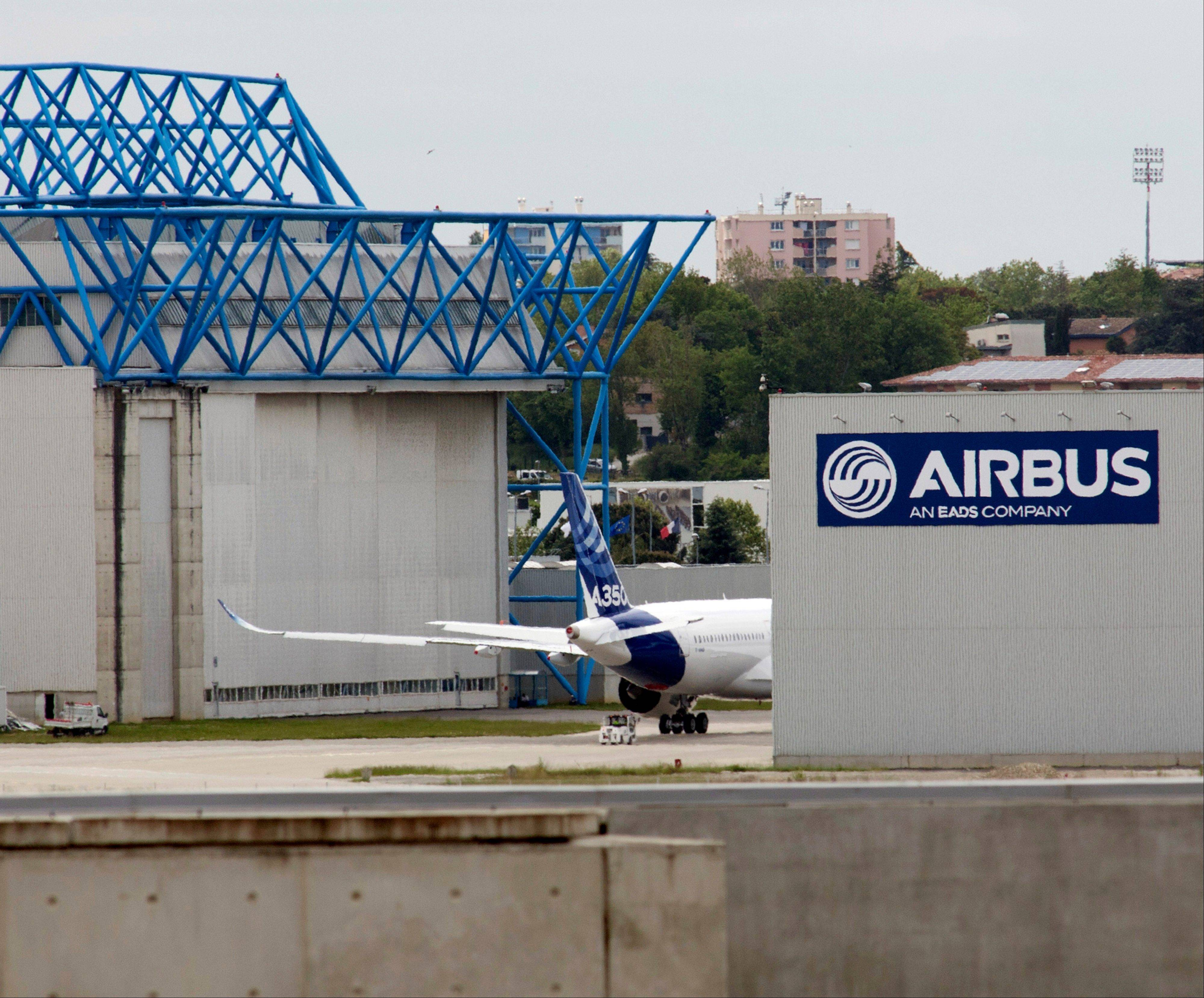 European aerospace company EADS said strong deliveries by airplane maker Airbus helped drive higher earnings i