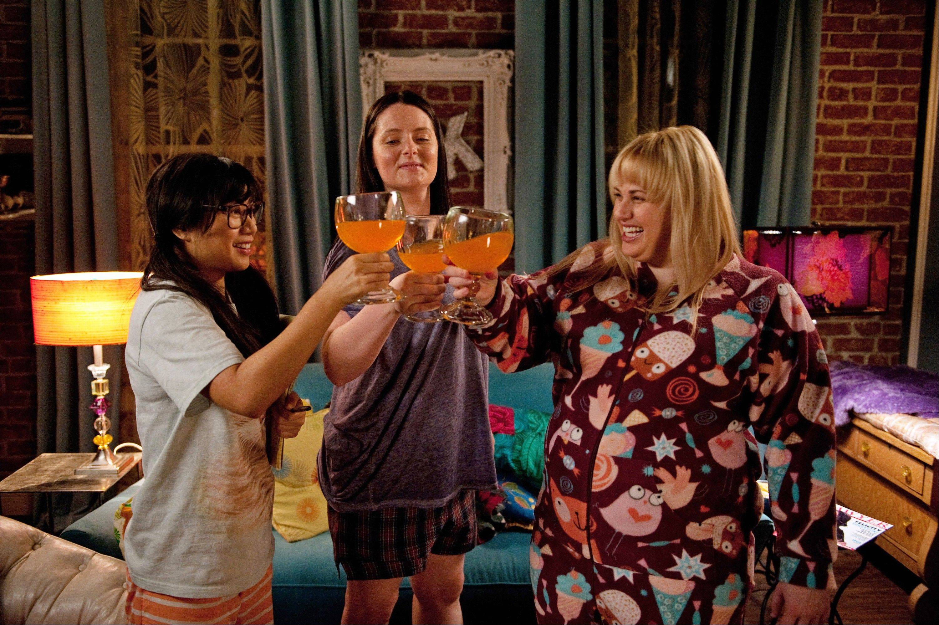 "Liza Lapira, Lauren Ash and Rebel Wilson in the new comedy ""Super Fun Night,"" premiering as part of the ABC fall lineup."