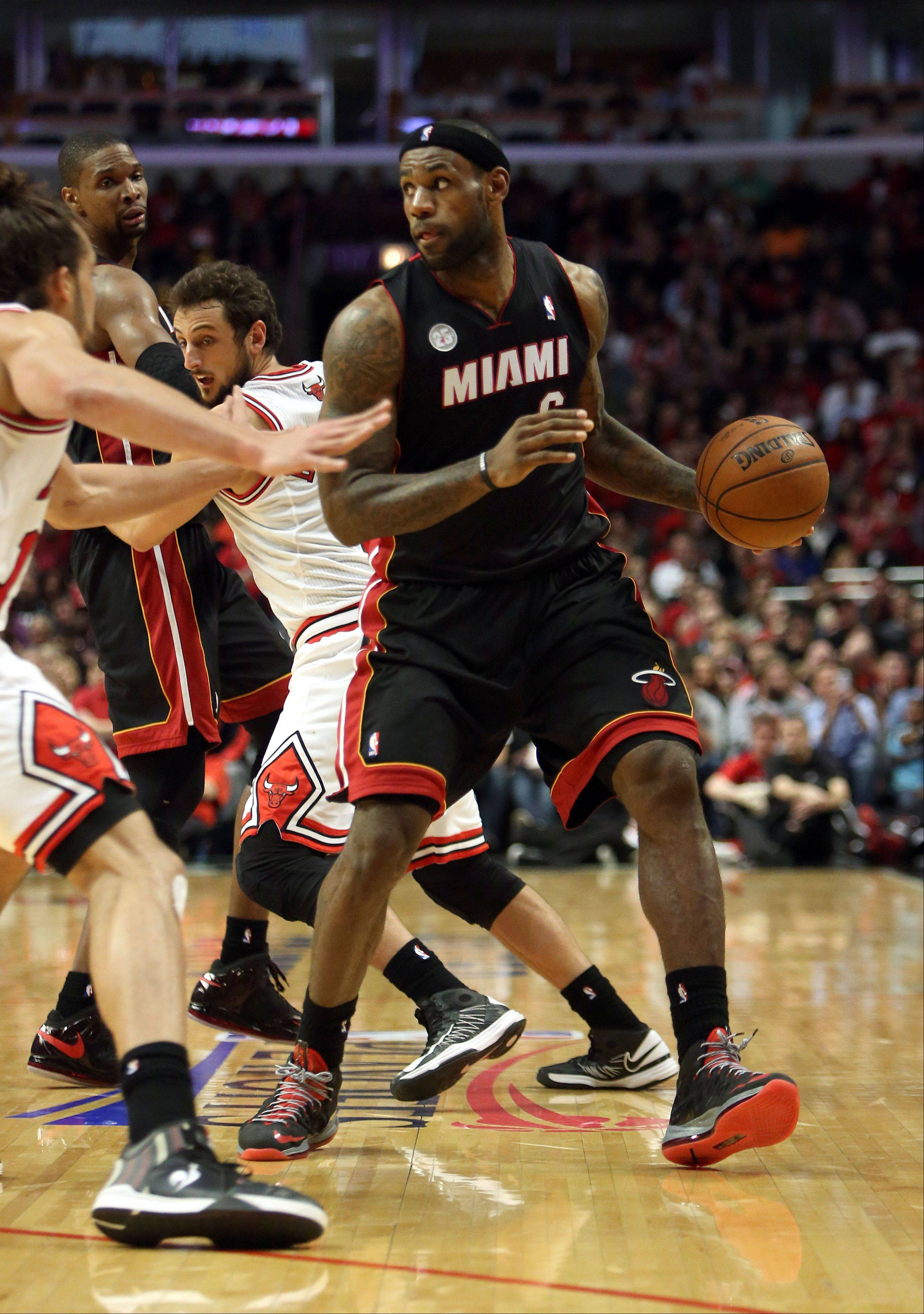 If the Bulls have anything to say about it, LeBron James and the Miami Heat won�t be able to put it on cruise control in Game 5 on Wednesday night.
