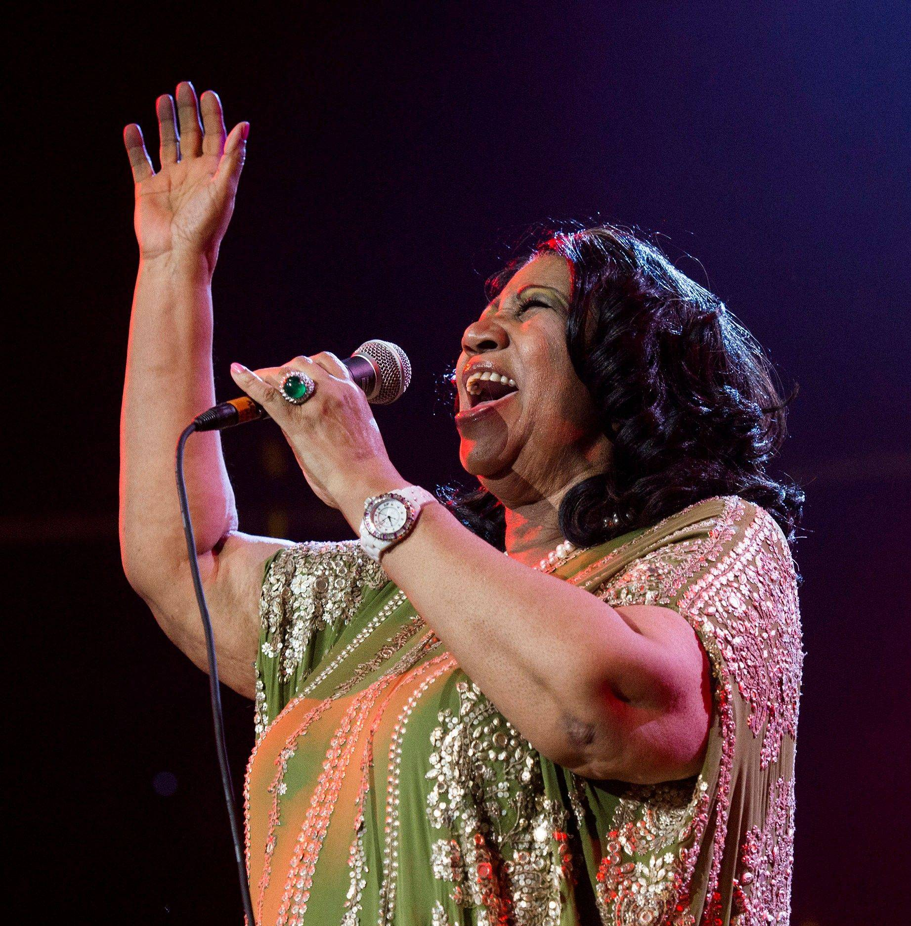 Aretha Franklin has canceled performances in Chicago on May 20 under a doctor's recommendation for treatment. It's unclear what sheís being treated for.