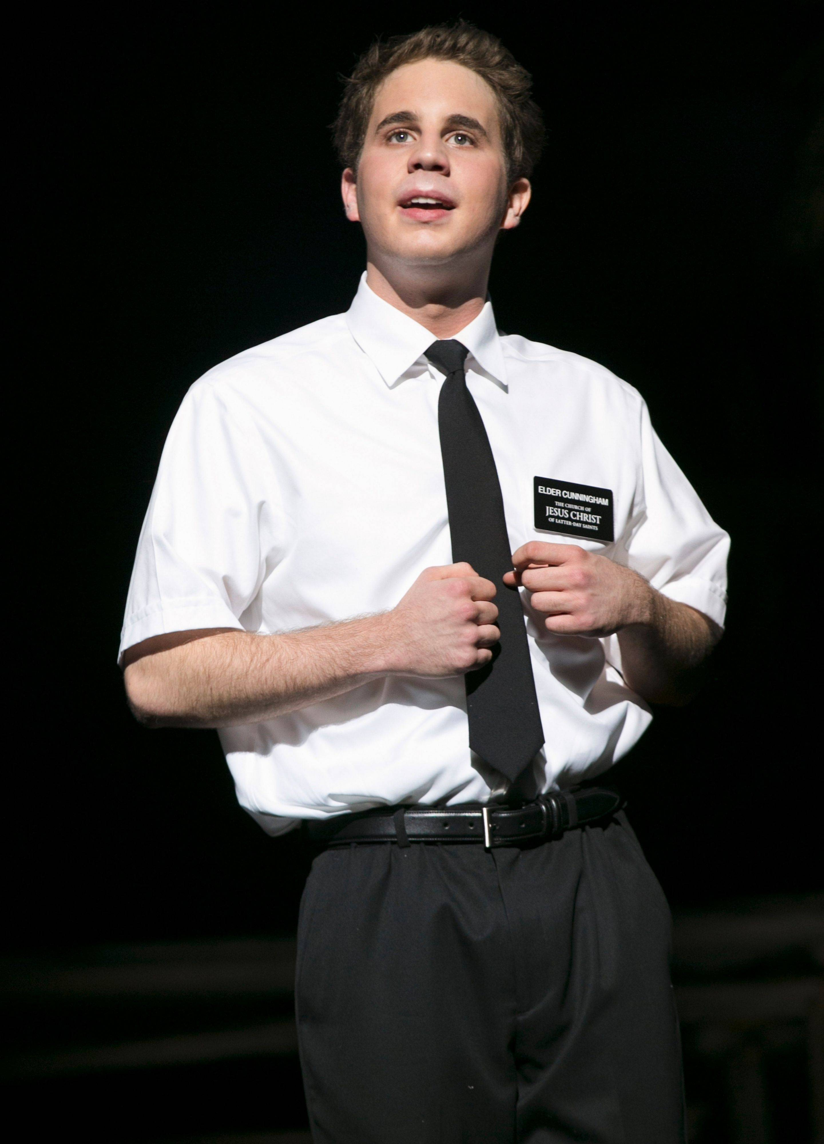"Ben Platt, 19, plays the lead role of Elder Cunningham in the hit musical ""The Book of Mormon."" His standby is Rob Colletti, 26, of Wheaton."