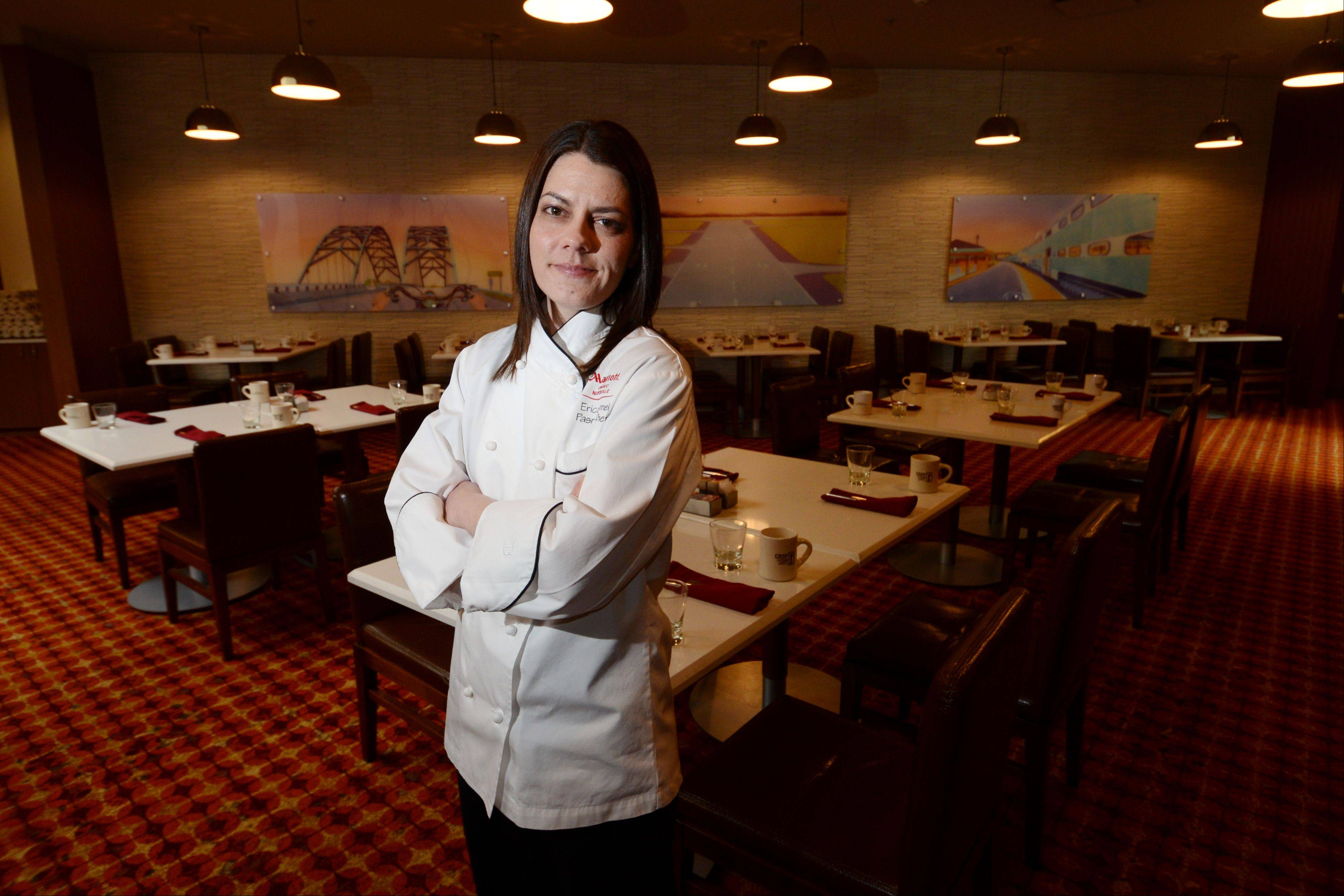 Erica Tomei runs the pastry kitchens at the Chicago Marriott Naperville.
