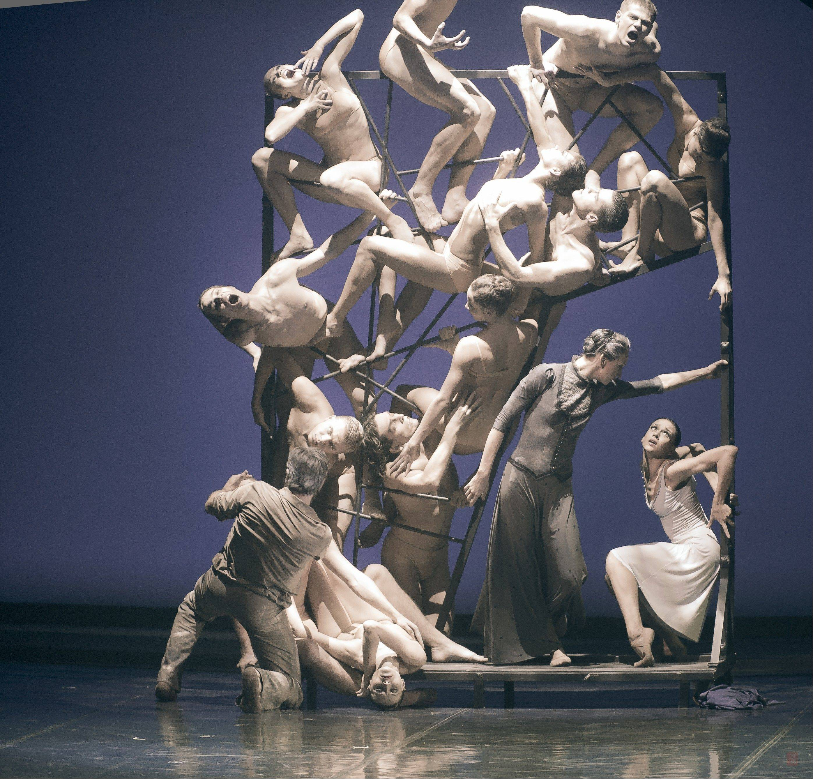 "The Eifman Ballet of St. Petersburg presents the Chicago premiere of the ballet ""Rodin"" about the French sculptor and his prot�g� Camille Claudel at the Auditorium Theatre of Roosevelt University in Chicago."