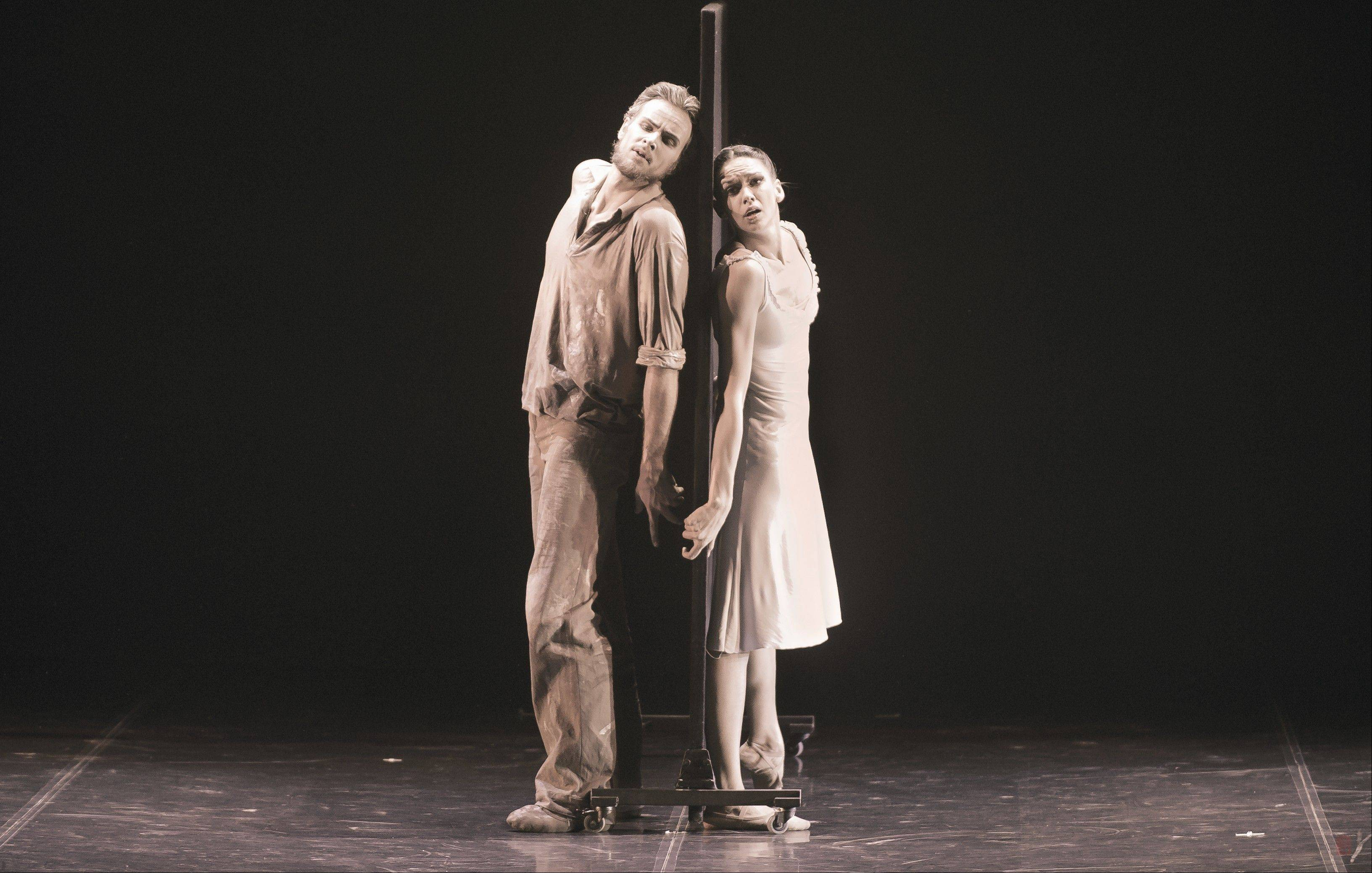 "The Eifman Ballet of St. Petersburg presents the Chicago premiere of ""Rodin"" about the French sculptor and his protégé Camille Claudel at the Auditorium Theatre of Roosevelt University in Chicago."