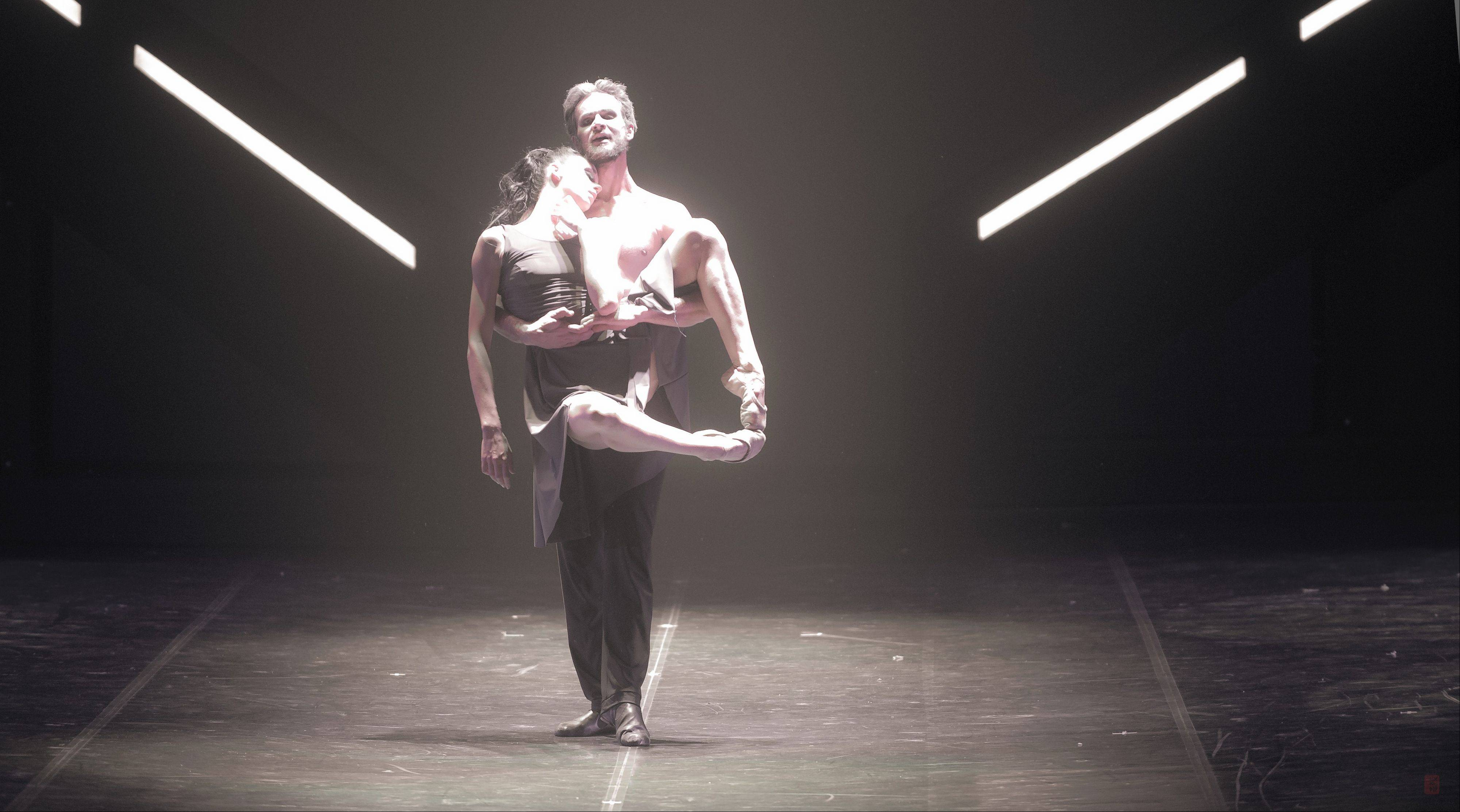 "The Eifman Ballet of St. Petersburg presents the Chicago premiere of the ballet ""Rodin"" about French sculptor and his protégé Camille Claudel at the Auditorium Theatre of Roosevelt University."