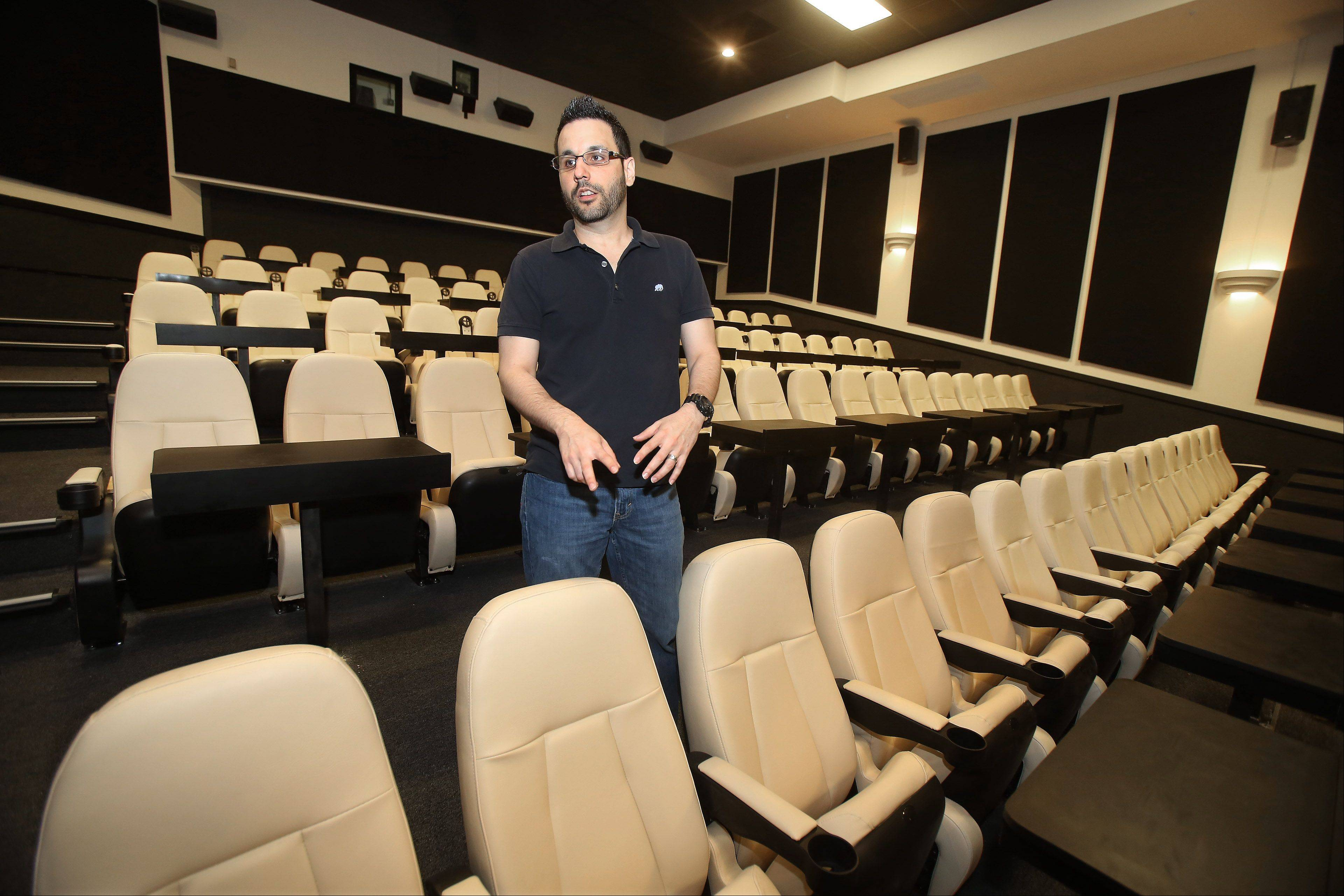 Star Cinema Grill opens next month in Arlington Hts.