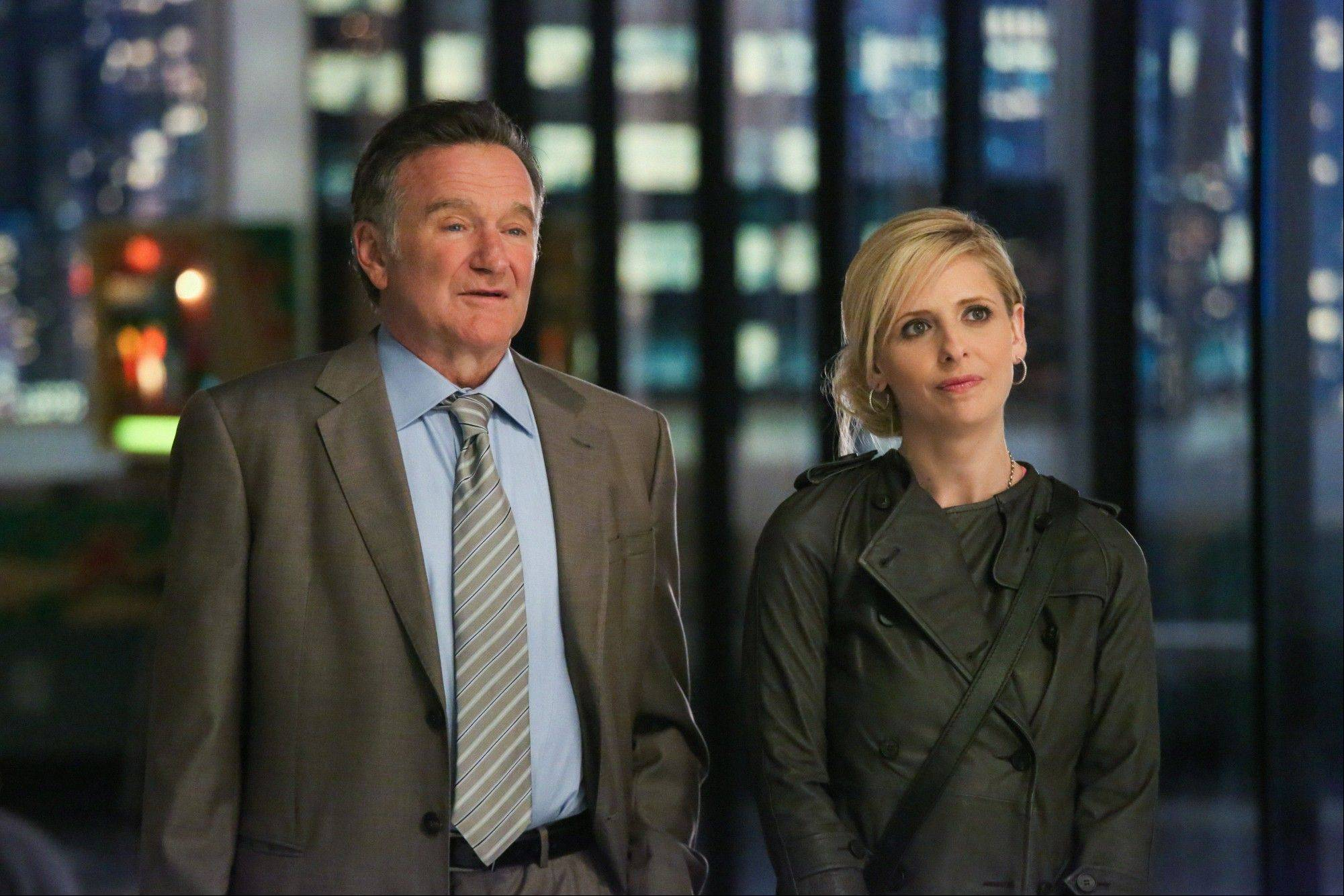 "Robin Williams and Sarah Michelle Gellar will star in the CBS comedy ""The Crazy Ones"" next fall."