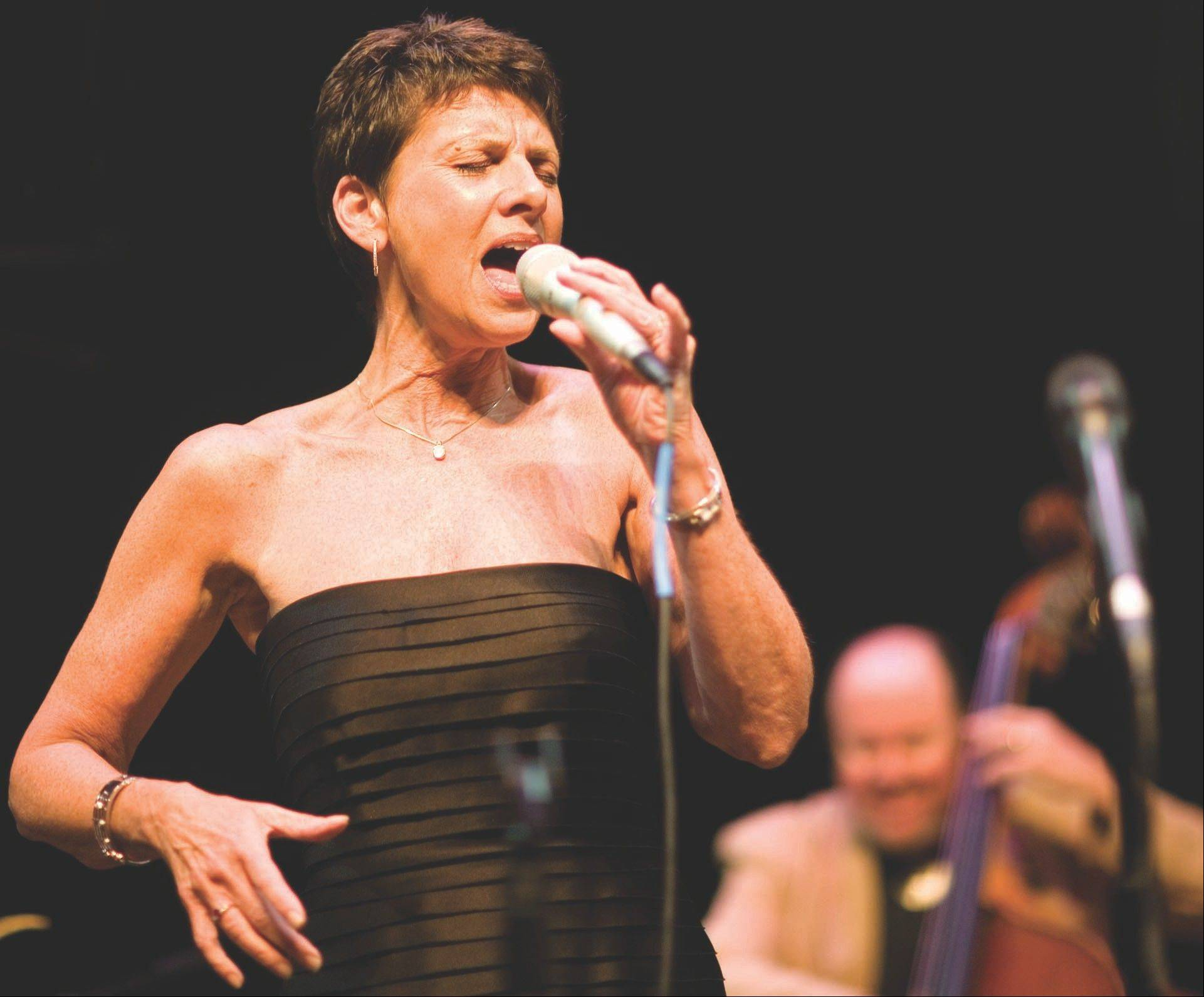 Vocalist Janice Borla headlines the Madden Theatre at North Central College in Naperville on Friday, May 17.