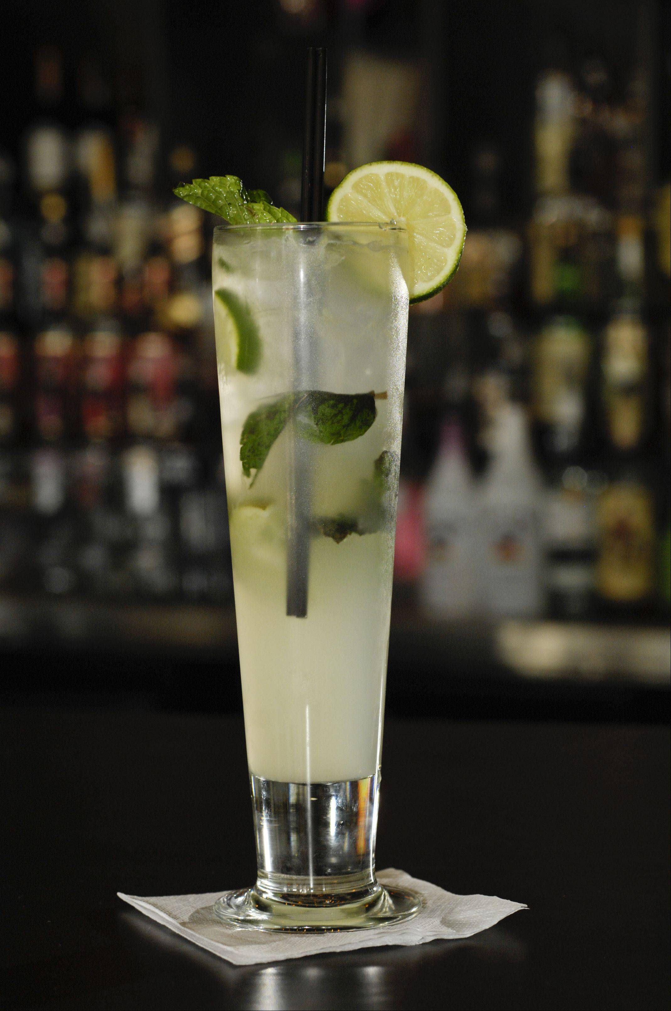 Mojitos are a signature drink at Rio's.