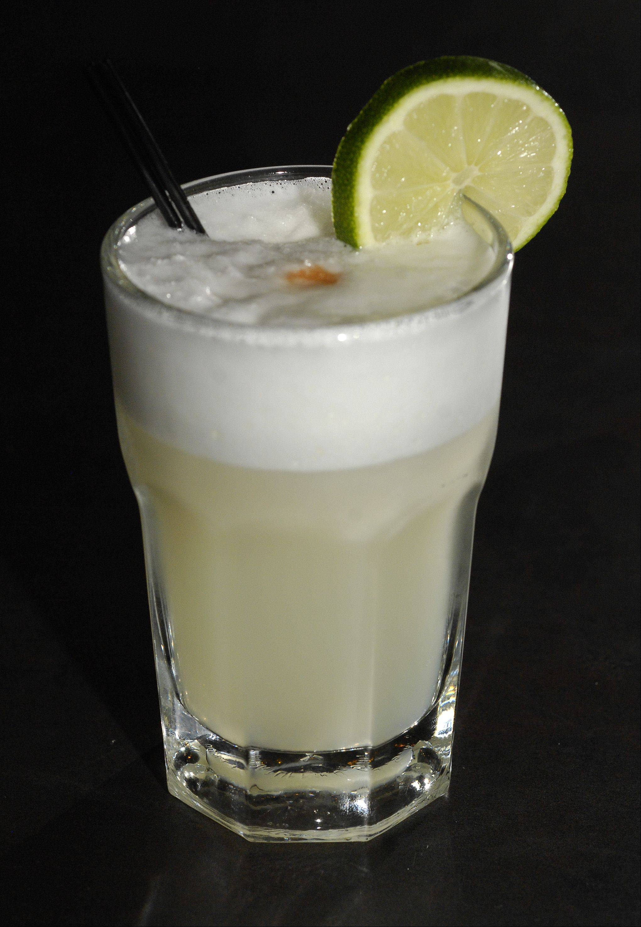 Rio's in Addison mixes up pisco sours, a traditional South American cocktail.