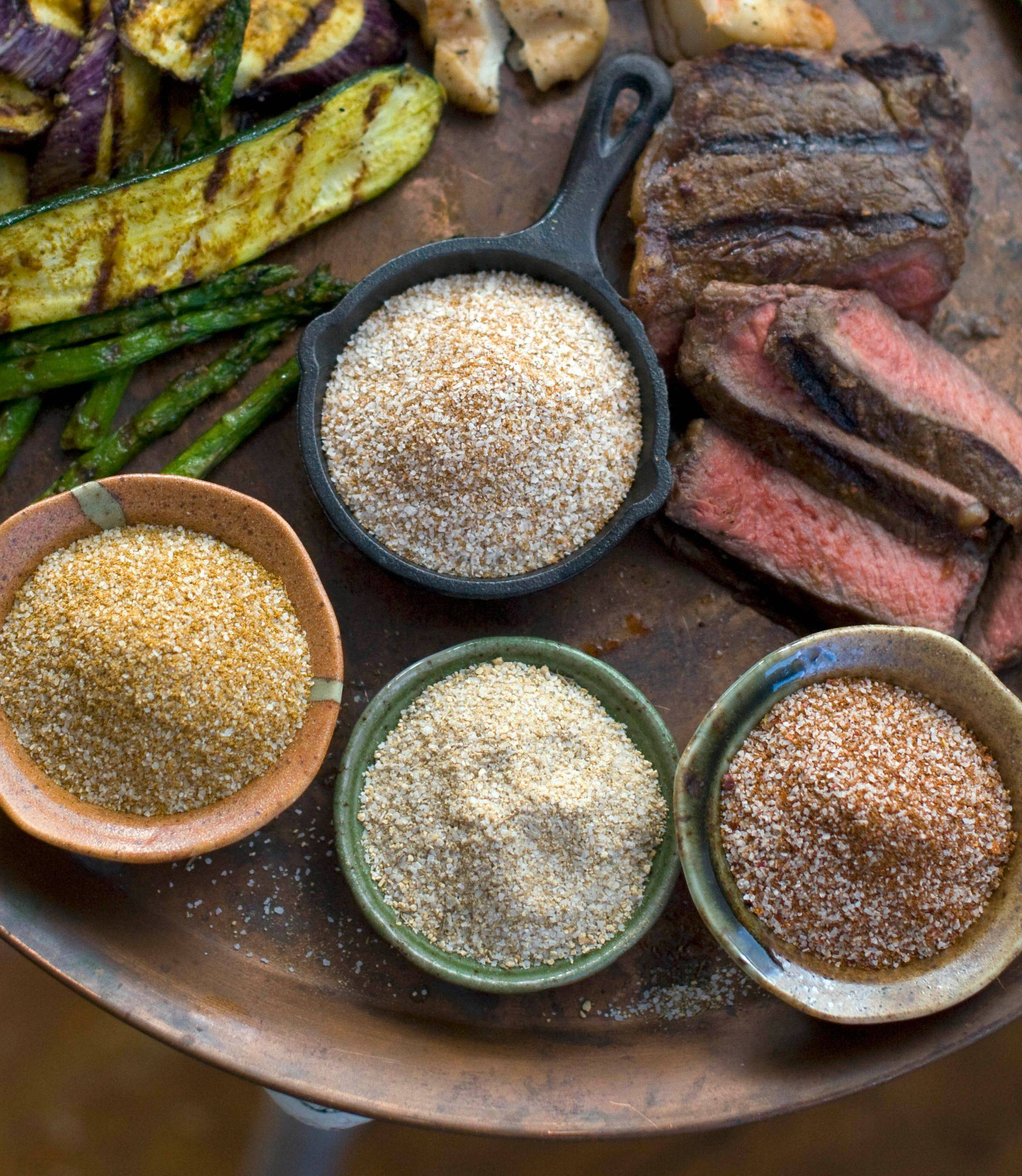 Spice and herb rubs are a quick and easy way to pump up the flavor of grilled foods.