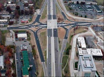 Missouri is a diverging diamond interchange pioneer, building its third in 2010 on I-270.