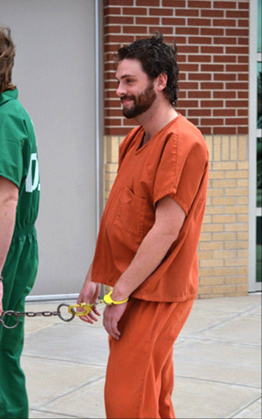 Gregory Weiler II enters the Ottawa County courthouse in Miami, Okla.