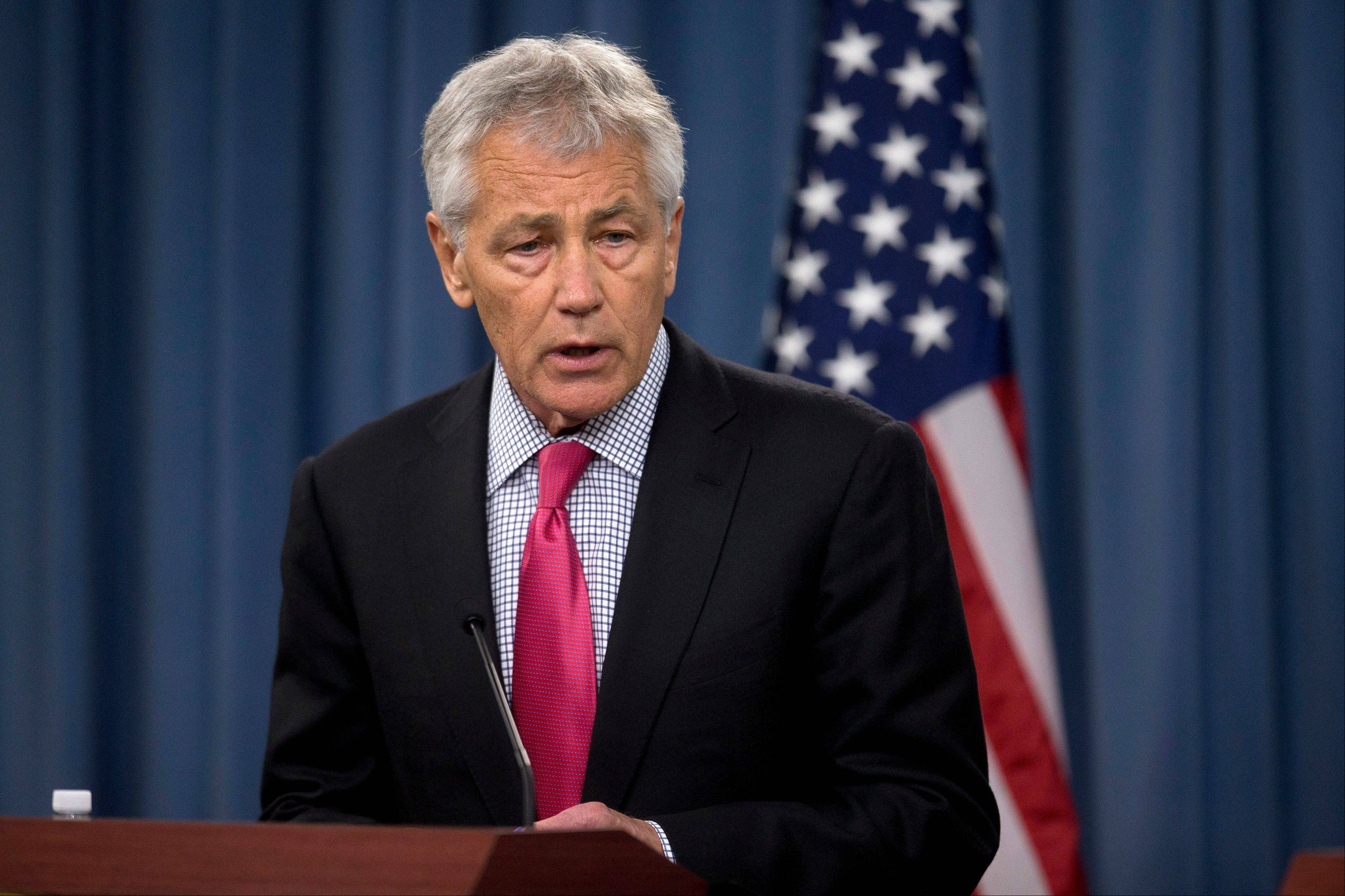 Defense Secretary Chuck Hagel said he was directing all the services to retrain, re-credential and rescreen all sexual assault prevention and response personnel and military recruiters, his spokesman, George Little, said after Tuesday's announcement that a sergeant first class at Fort Hood, Texas, was accused of pandering, abusive sexual contact, assault and maltreatment of subordinates.