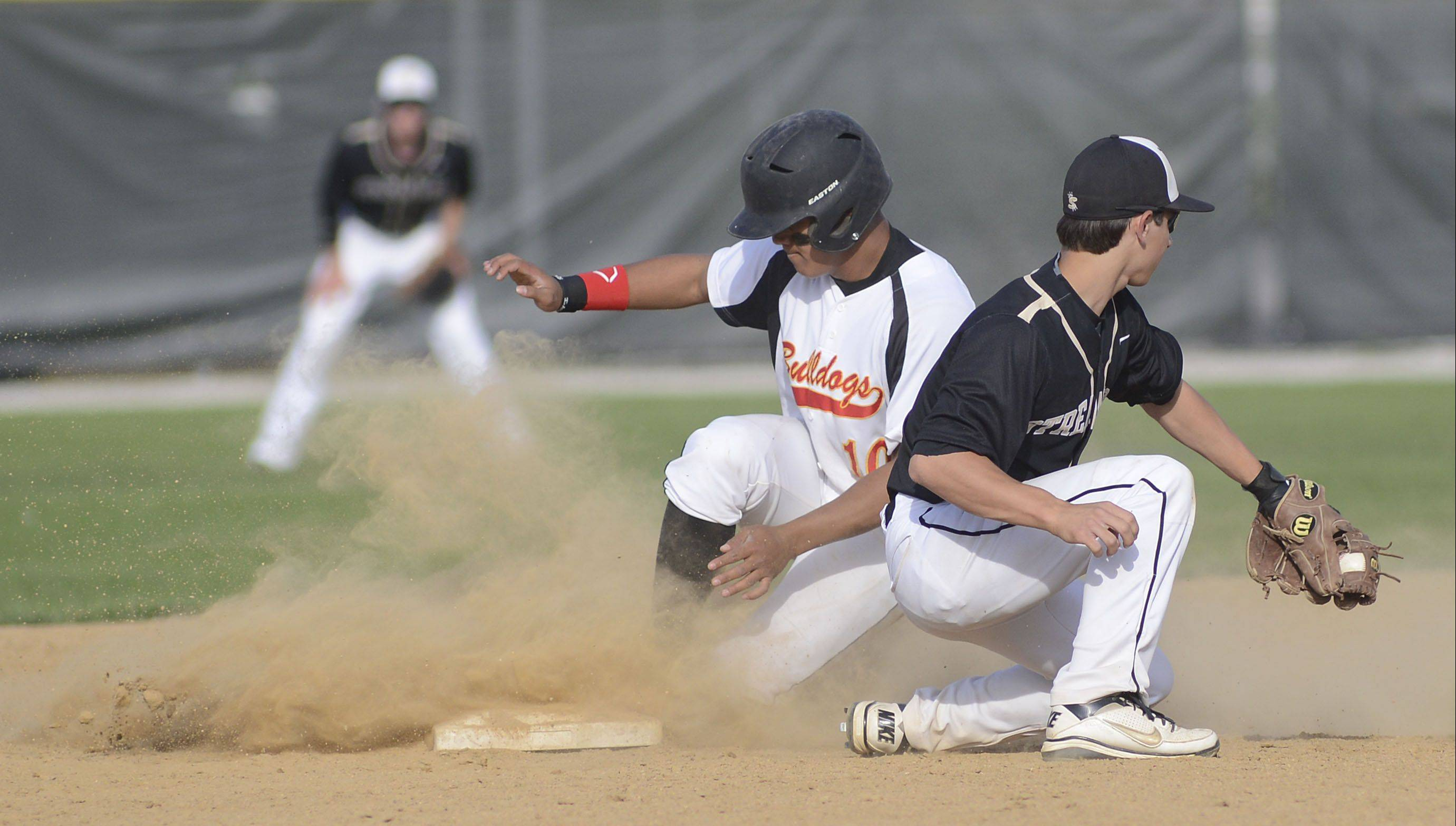 Batavia's Laren Eustace went 4-for-4 Wednesday with 2 RBI, 2 runs and earned the save.
