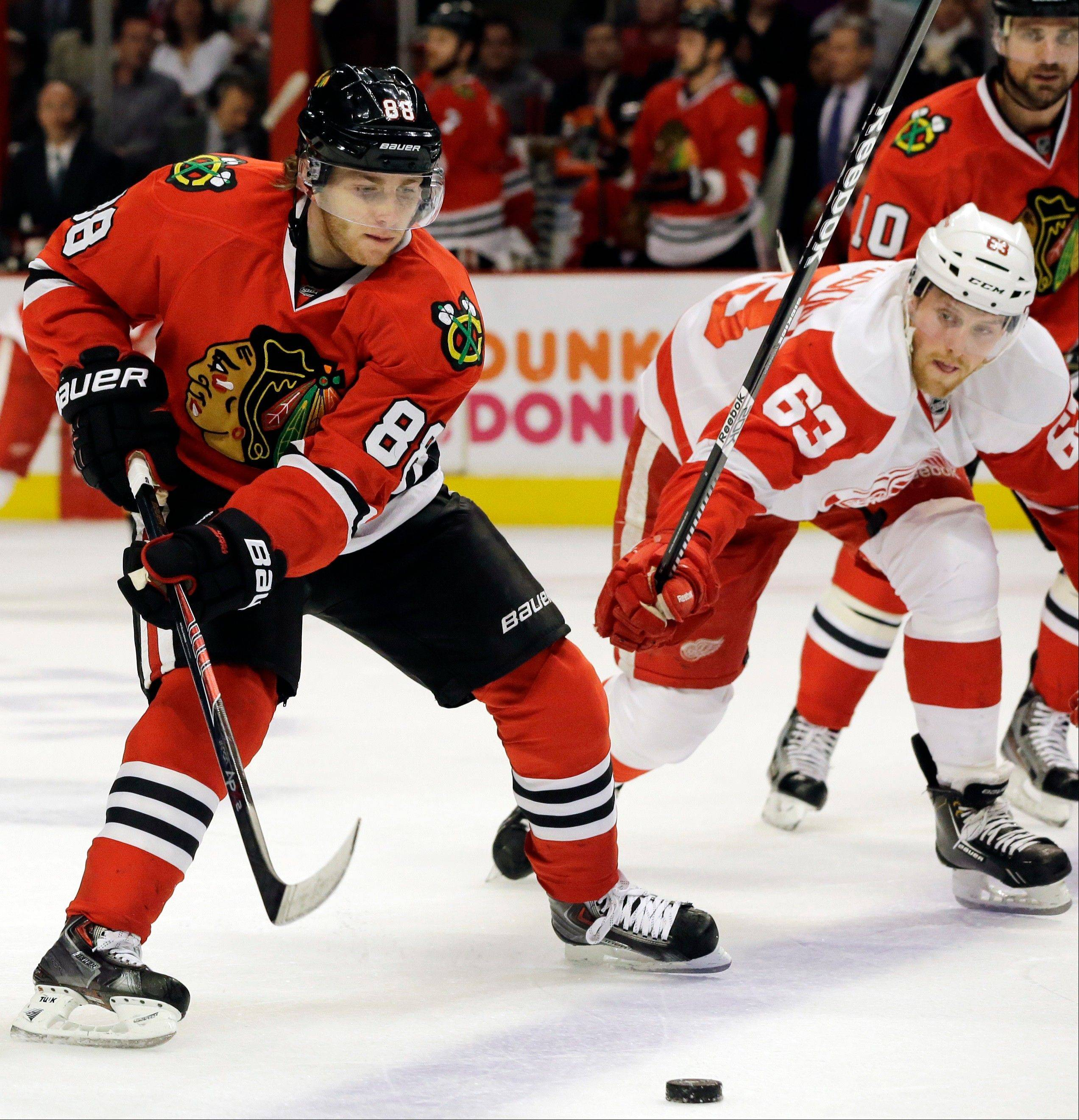 During the regular season, the Blackhawks� Patrick Kane ranked fifth in the NHL with 55 points while receiving only eight penalty minutes, the lowest total among the league�s top 20 scorers. Kane is one of the three finalists for the Lady Byng Memorial Trophy, which the NHL awards to the player who has exhibited the best type of sportsmanship and gentlemanly conduct, combined with a high standard of playing ability.