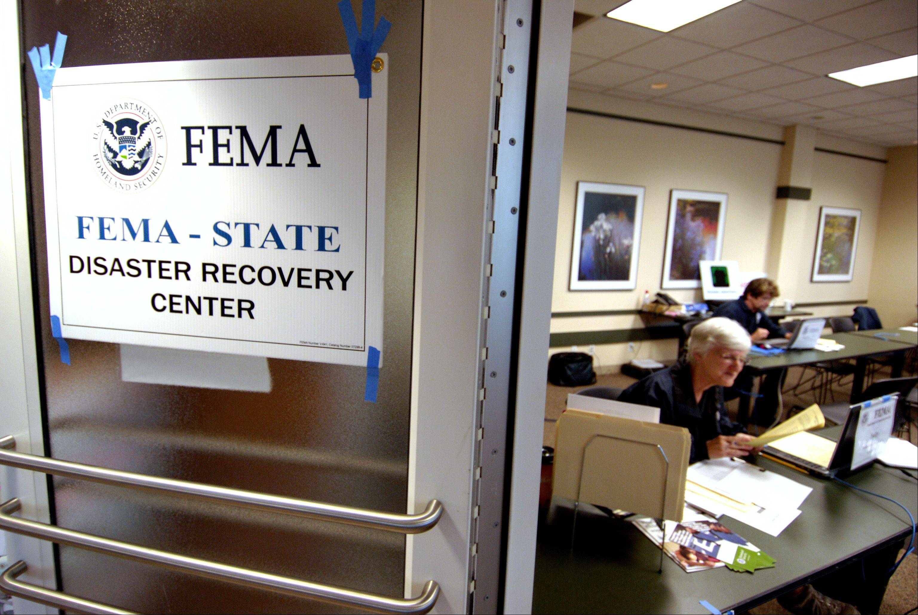 FEMA's Disaster Recovery Center, located in the Lisle Police Department, will be open until further notice.