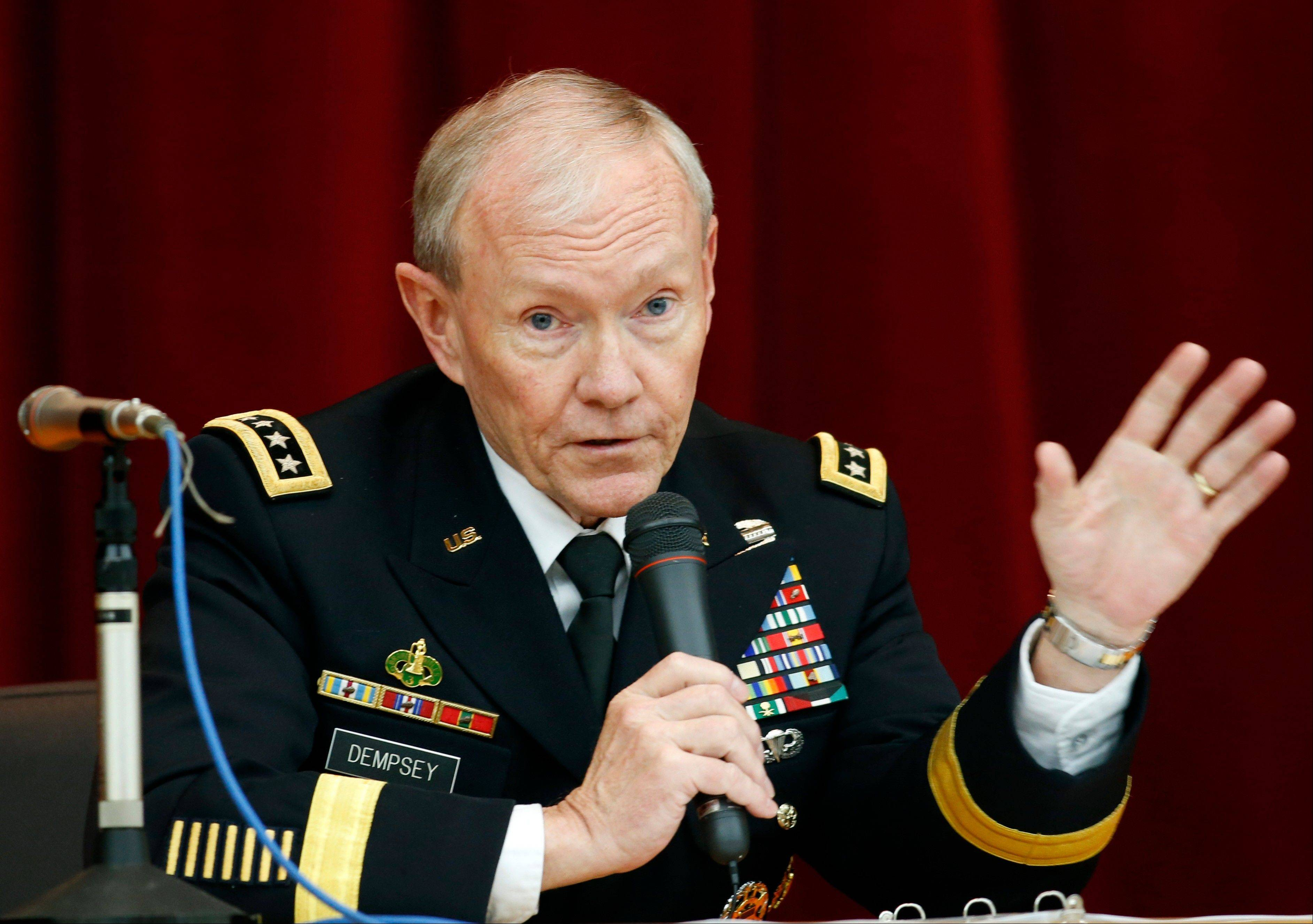 "Allegations of sexual assault in the military have triggered outrage from local commanders to Capitol Hill and the Oval Office. ""We're losing the confidence of the women who serve that we can solve this problem,"" the chairman of the Joint Chiefs of Staff, Army Gen. Martin Dempsey, said Wednesday."