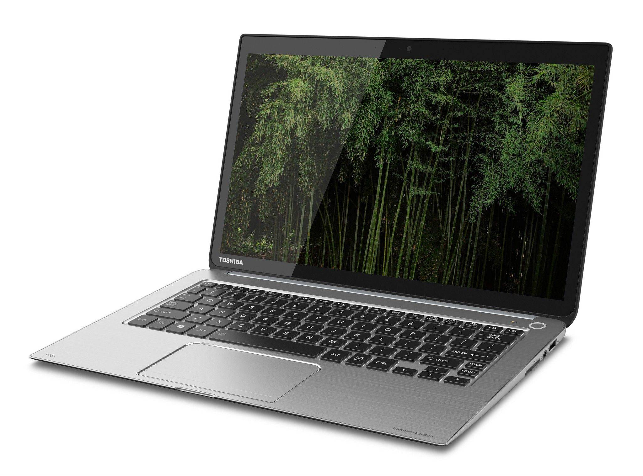 Associated Press/April 16, 2013 The Toshiba Kirabook, a newly released laptop line with a Retina-level display.