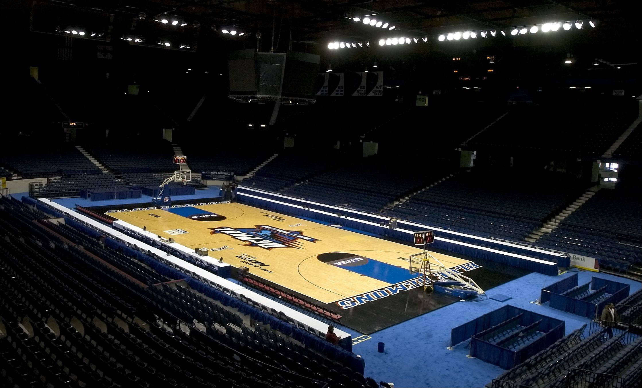 The DePaul University Blue Demons men�s basketball team will be moving from the Allstate Arena in Rosemont to a new stadium in Chicago under a deal announced this week by Chicago Mayor Rahm Emanuel.