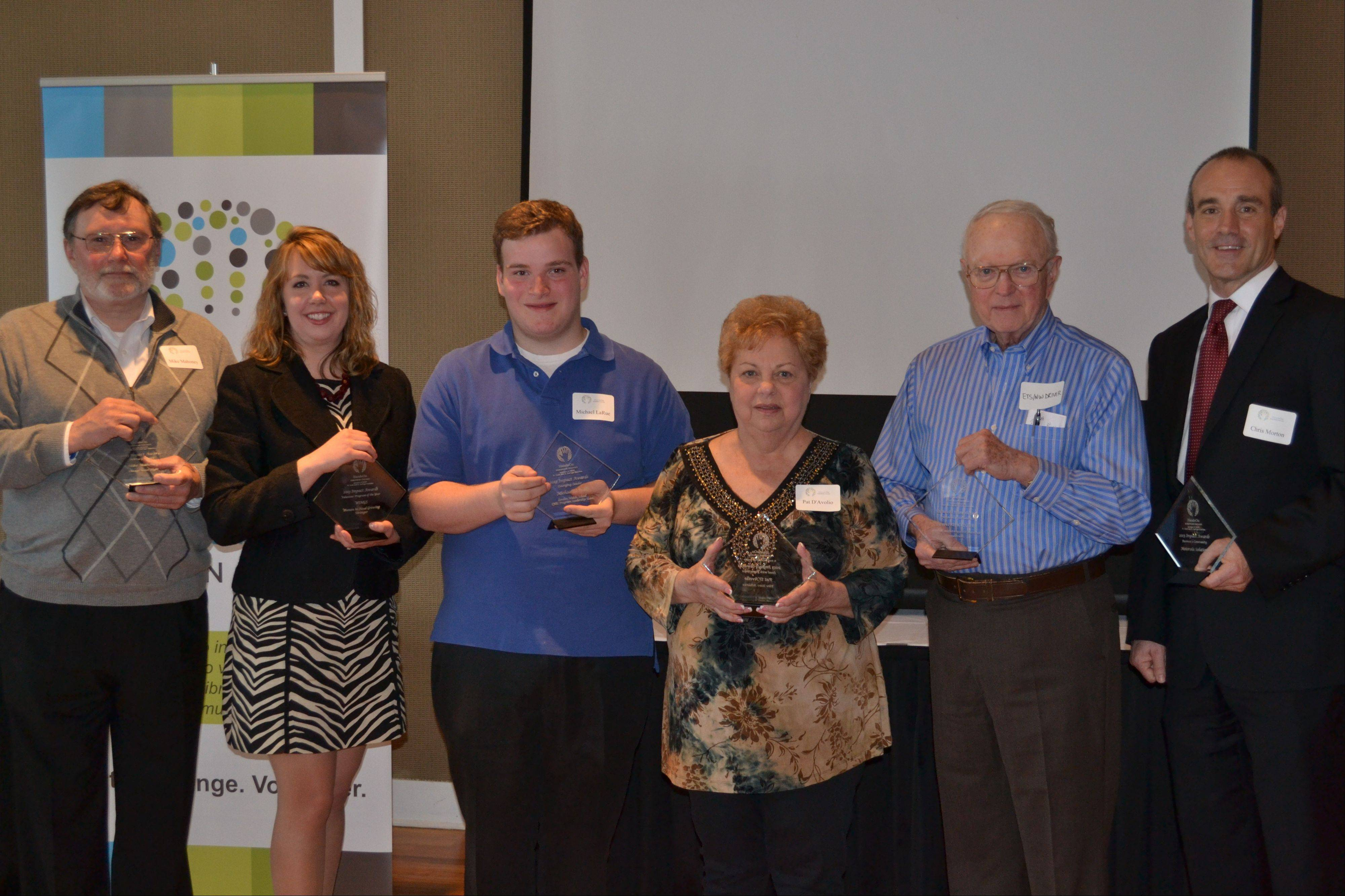 The 2013 Impact Award winners