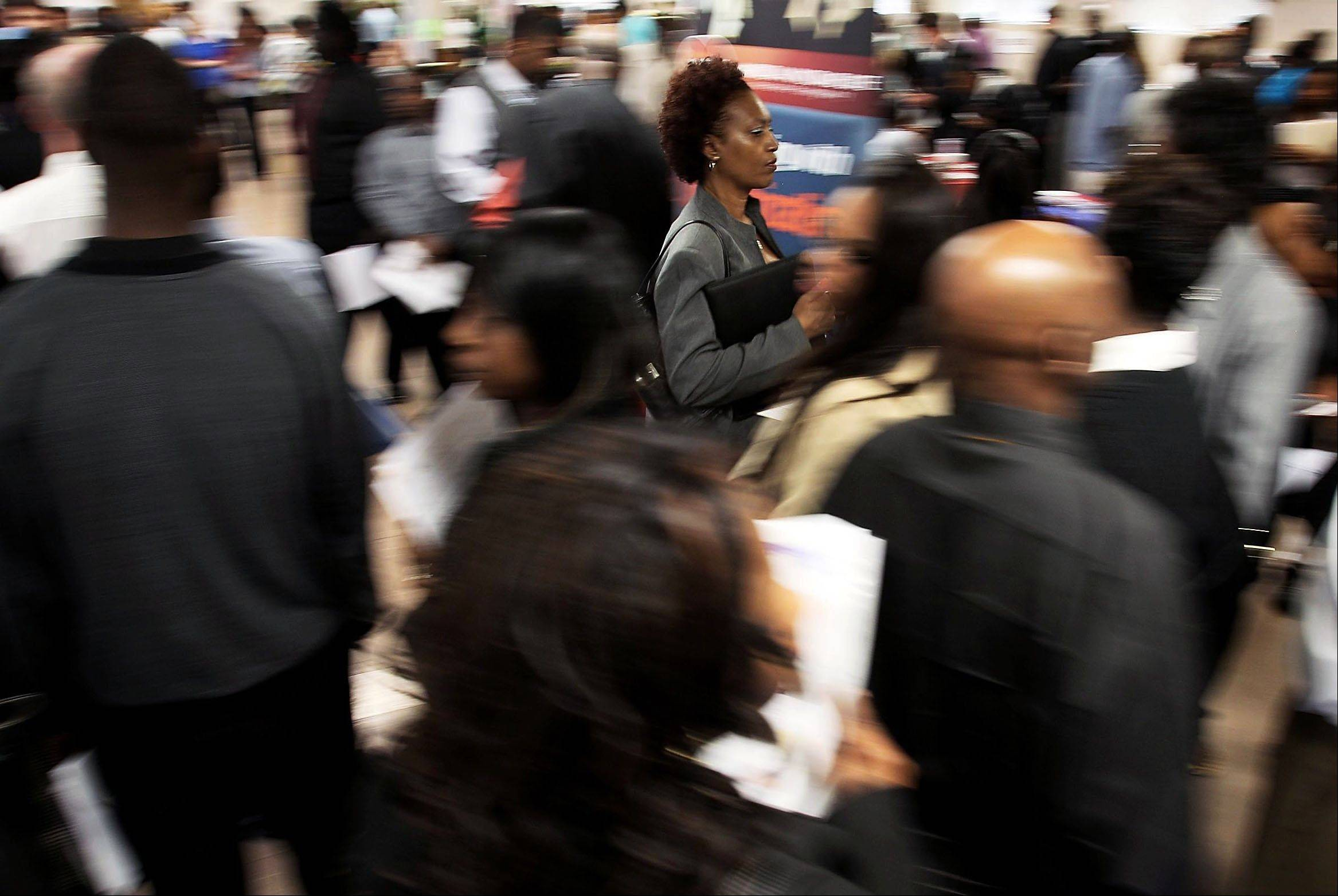 Solid hiring helped push down unemployment rates in 40 U.S. states last month, the most since November. The declines show job markets are improving in most areas of the country. The Labor Department says unemployment rates only rose in Louisiana, Tennessee and North Dakota. Rates were unchanged in seven states.